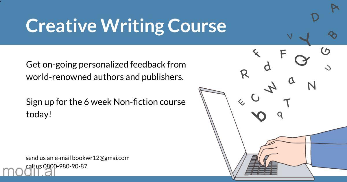 Creative Writing LinkedIn Post Template