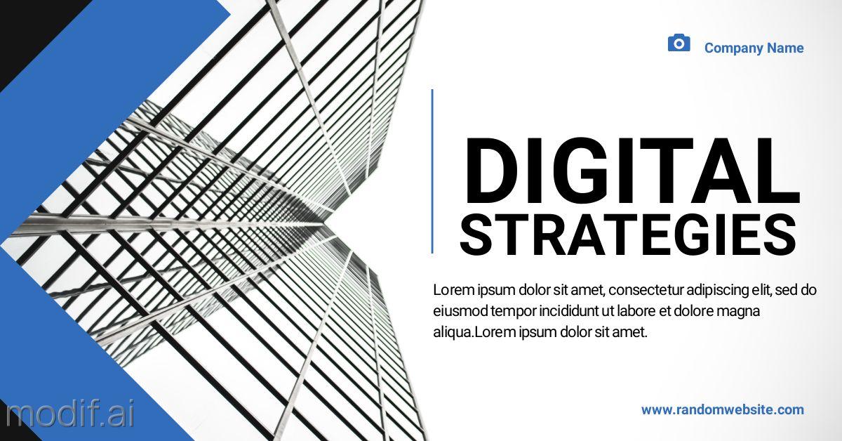 Digital Strategies LinkedIn Post Template