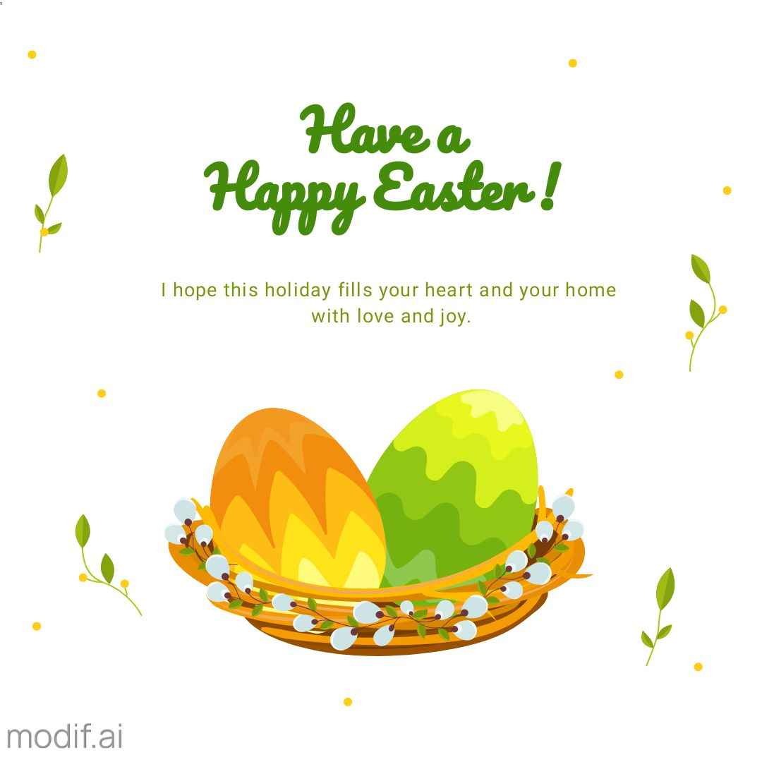Happy Easter Day Greeting Card