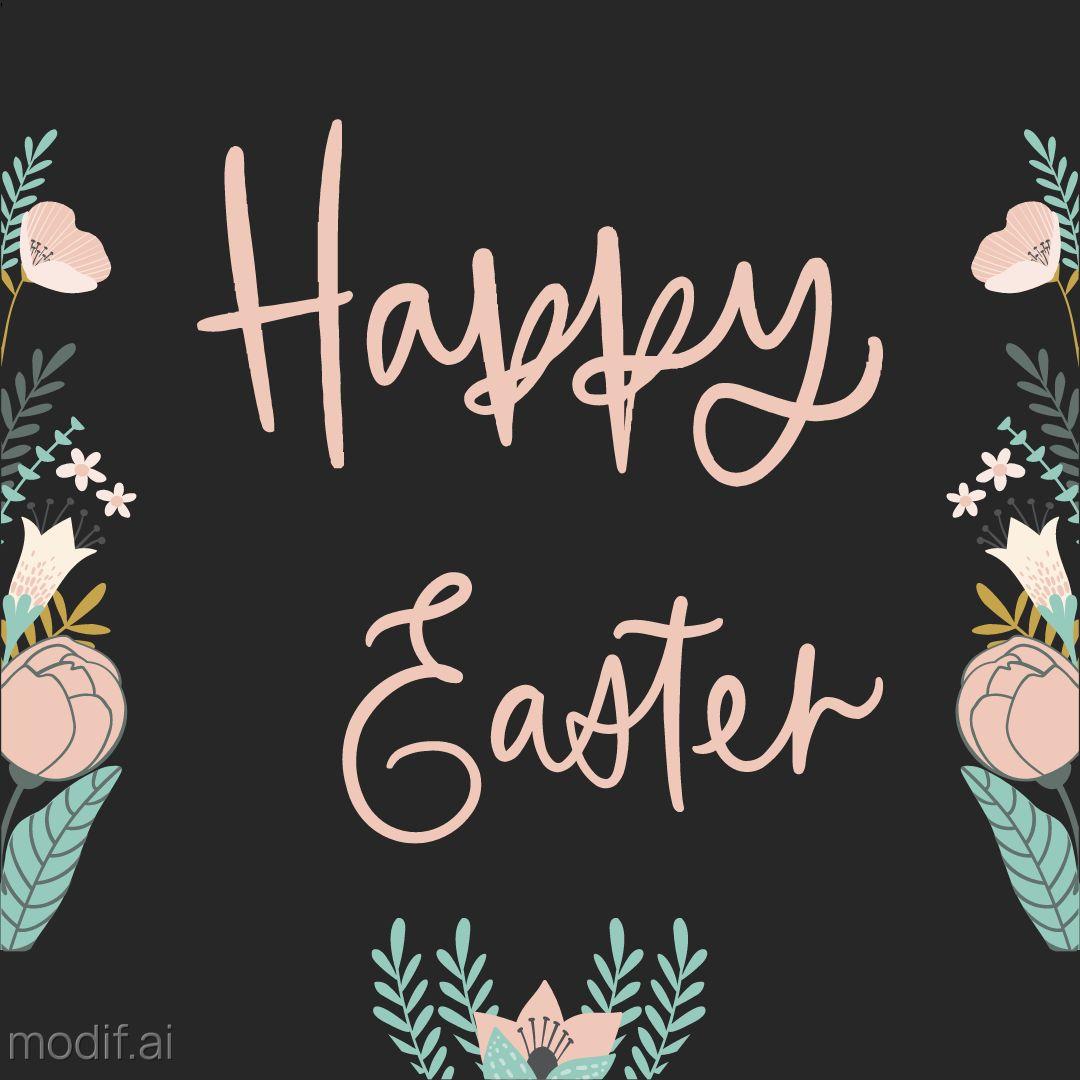 Happy Easter Instagram Template