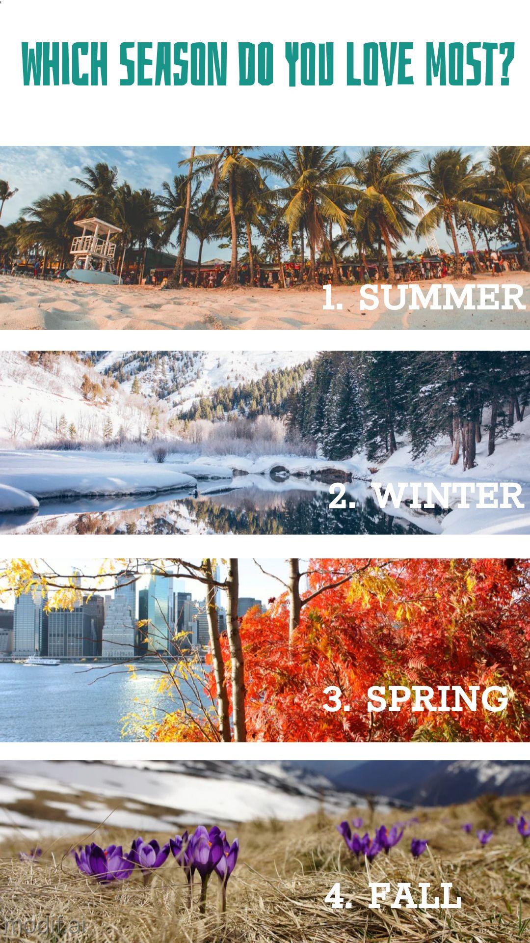 Instagram Story Favorite Season Template
