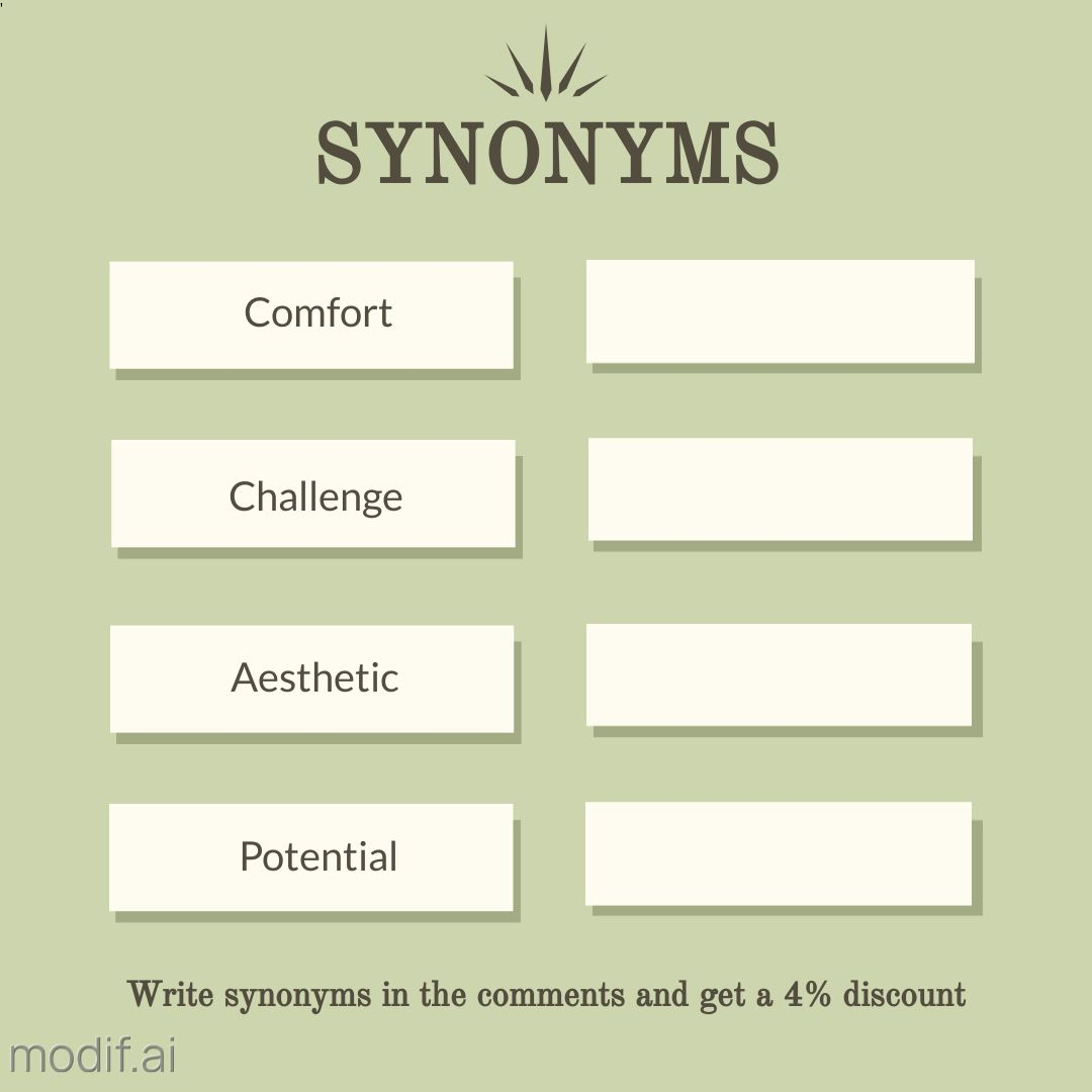 Synonyms Instagram Post Template