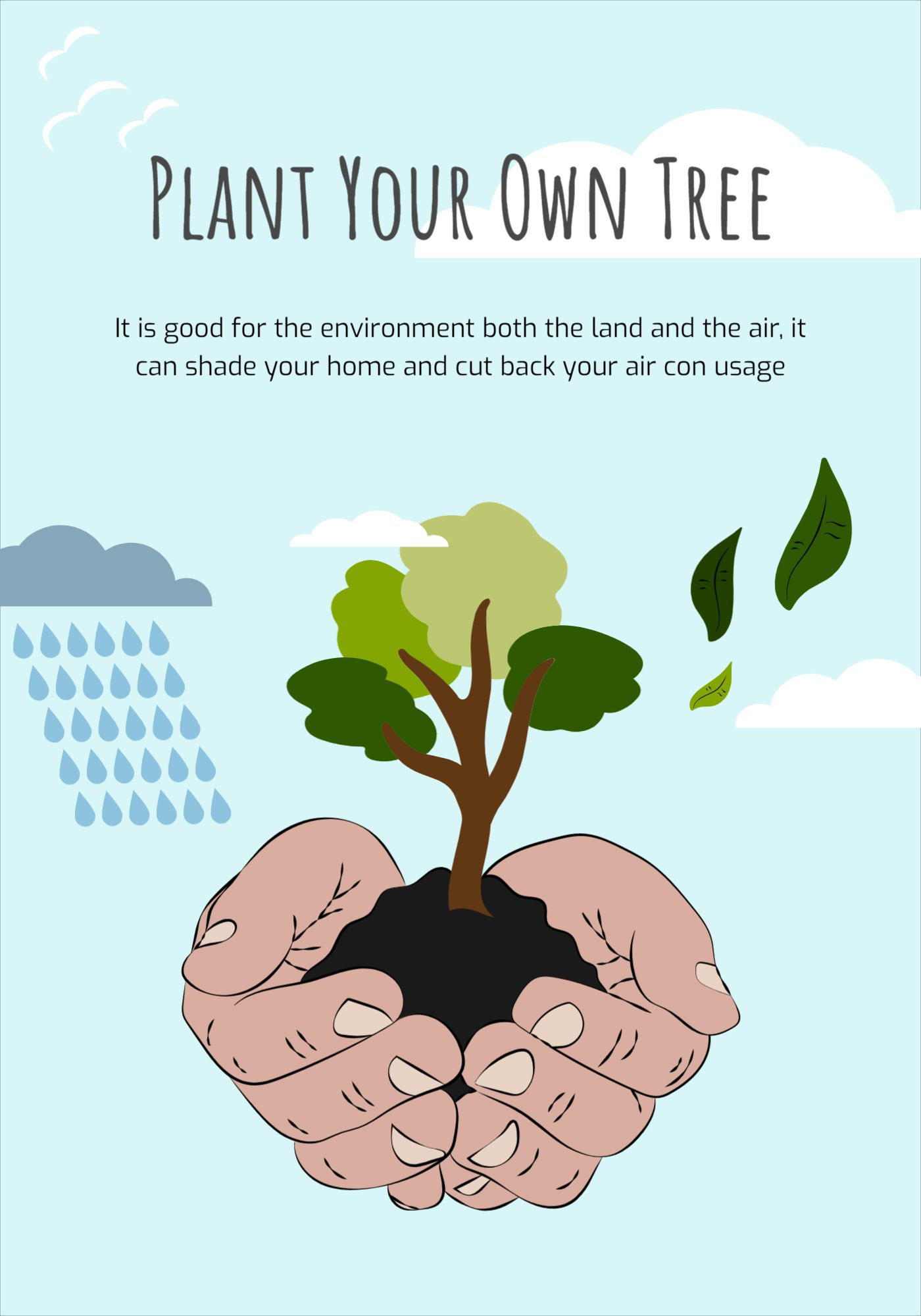 Plant your tree Environment Poster Template