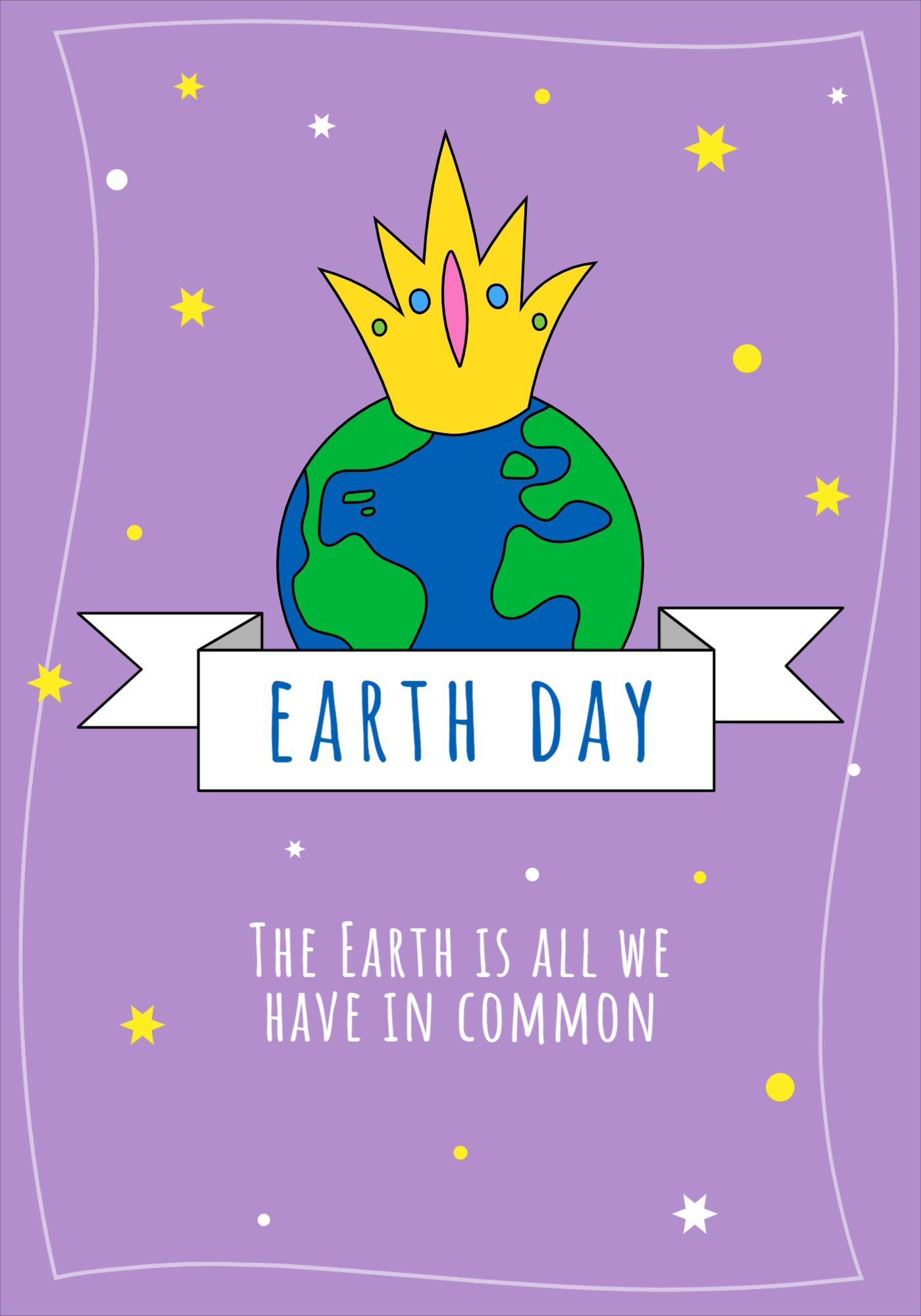 Earth Day Environment Poster Template