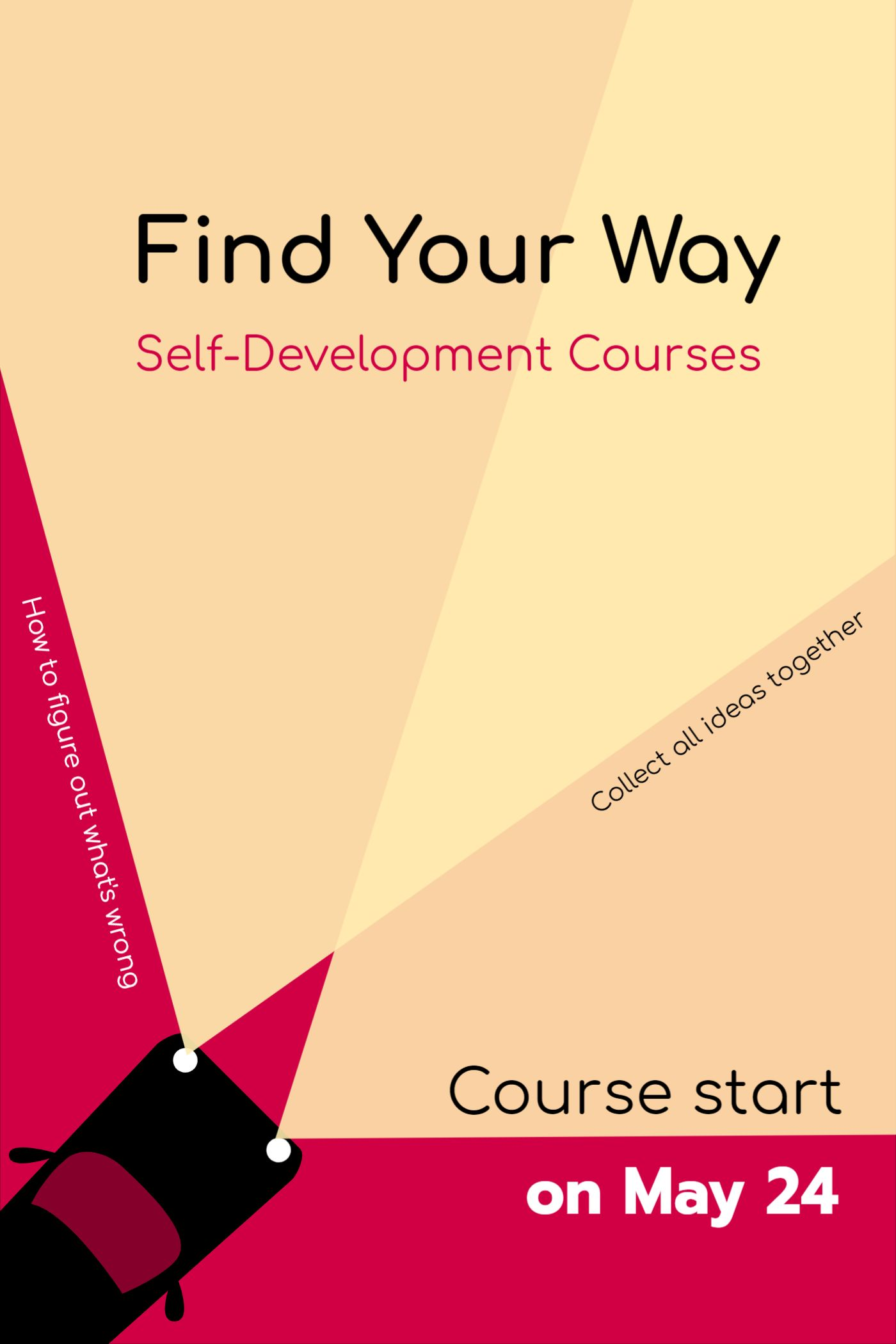 Self Bevelopment Course Cover Template