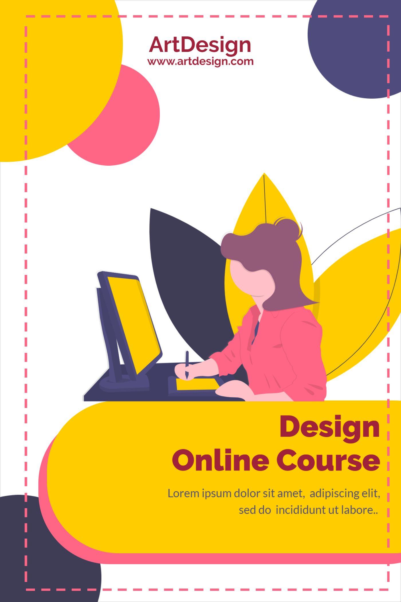 Design Online Course Template
