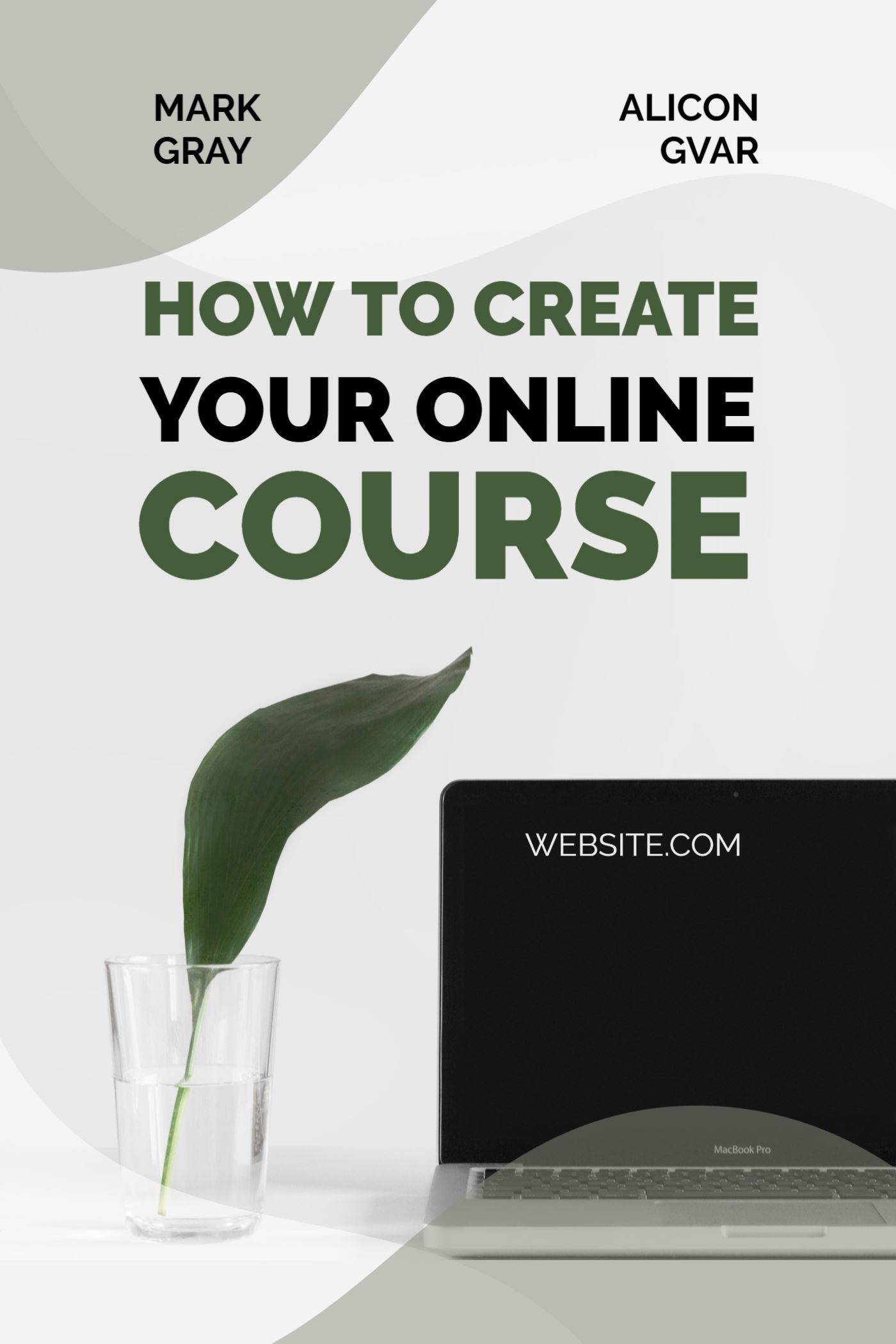Minimal Online Course Template