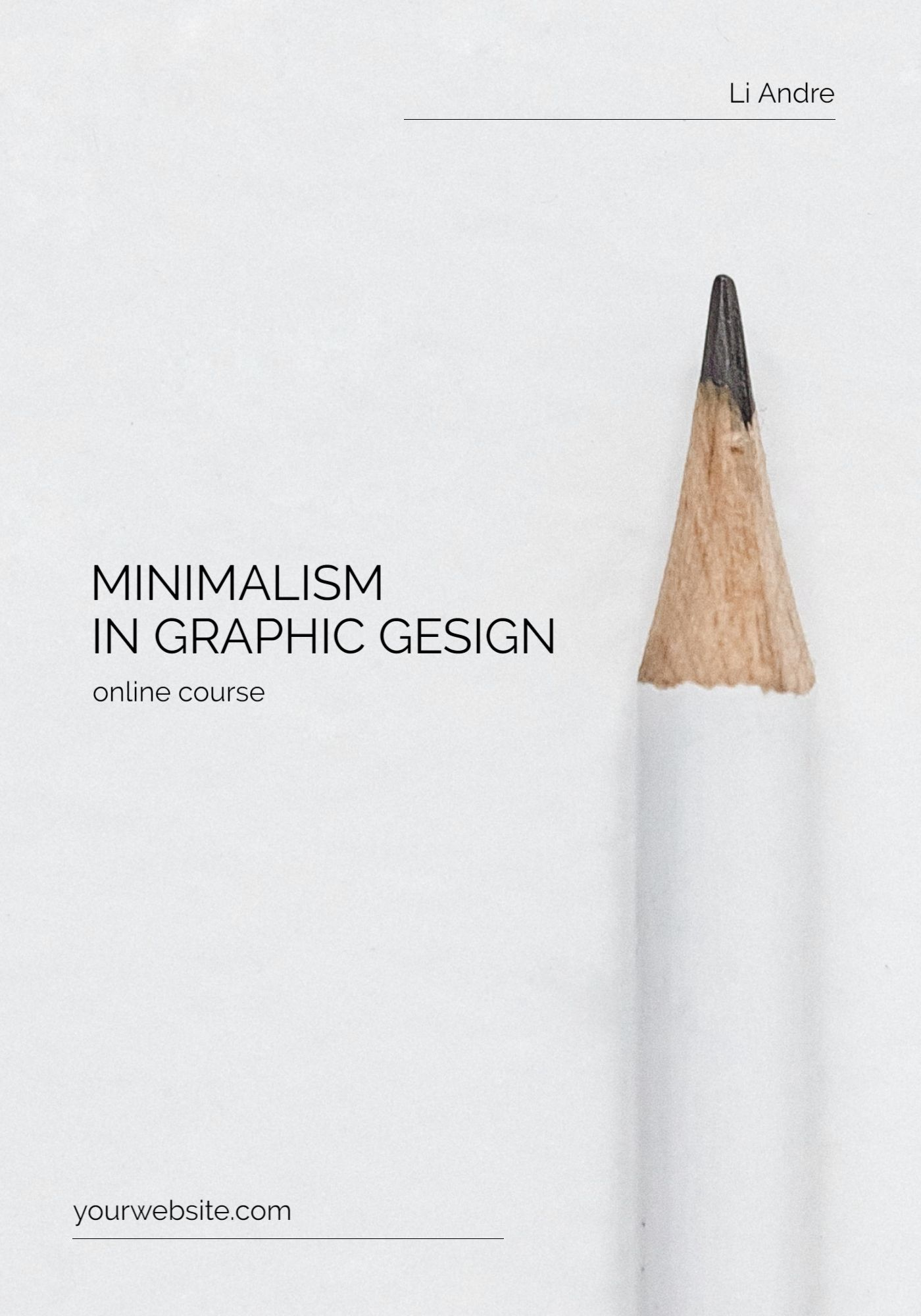 Online Course Graphic Gesign Template