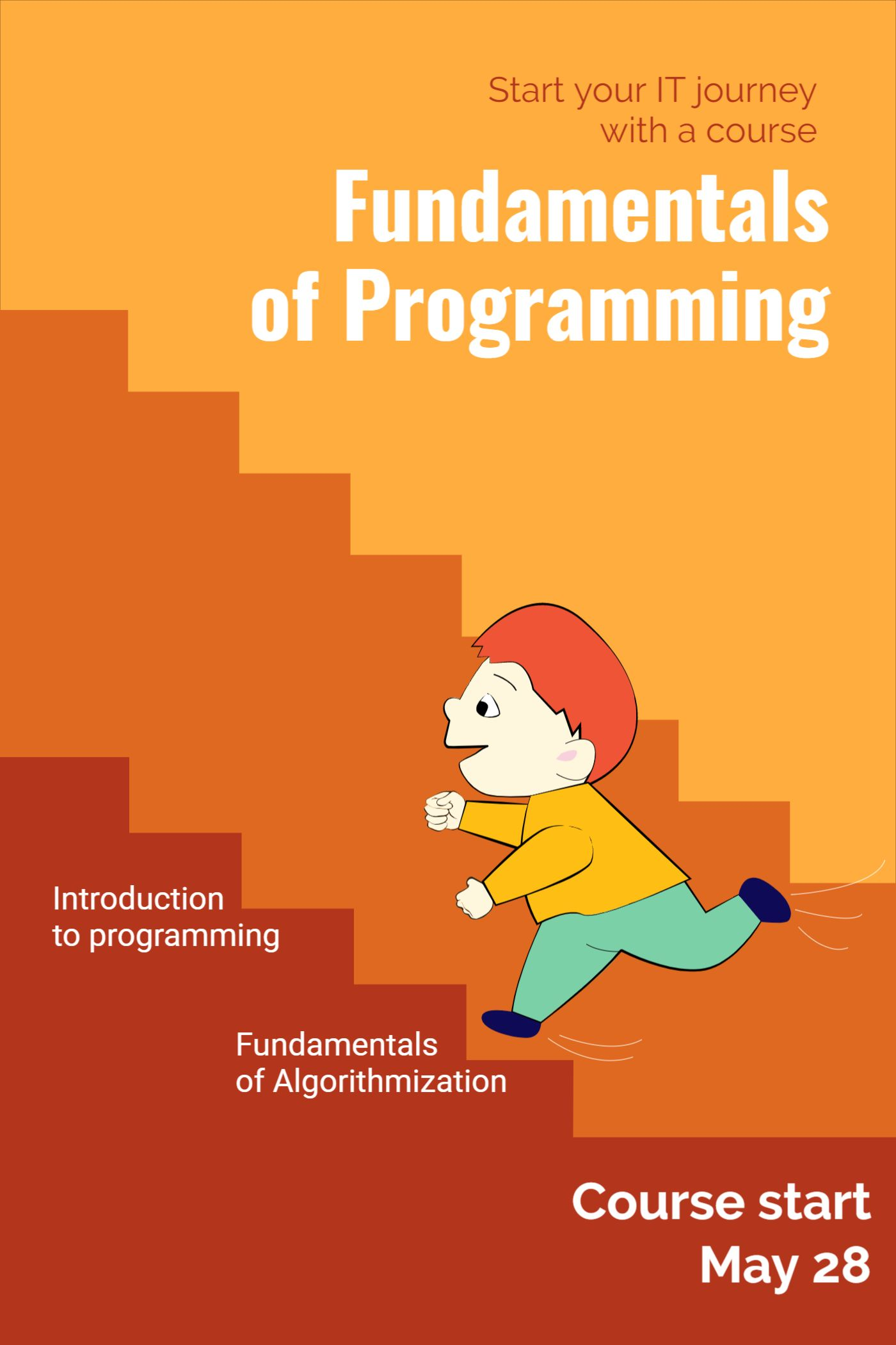 Cover Template for Programming Courses