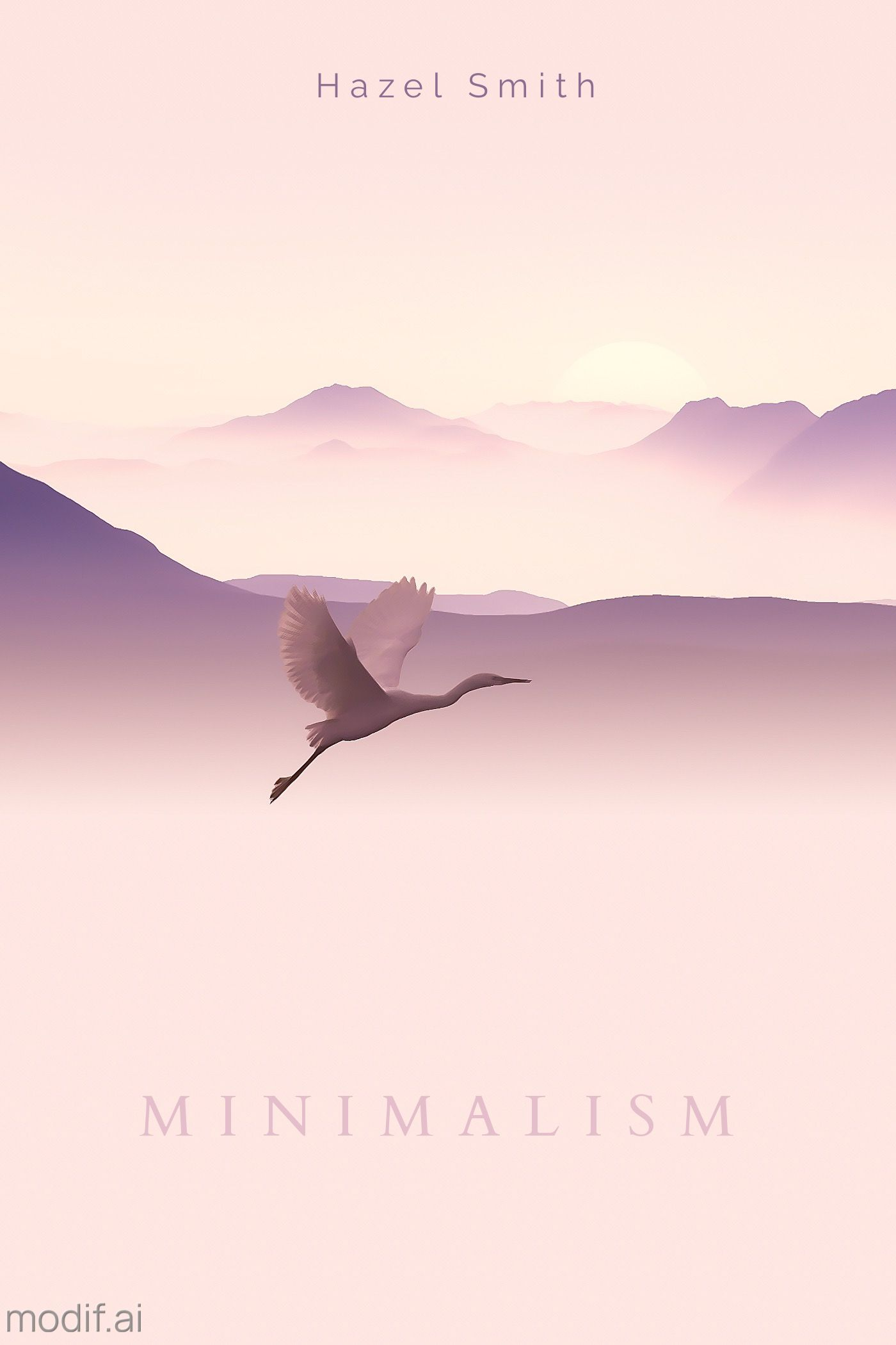 Minimalism Book Cover Template