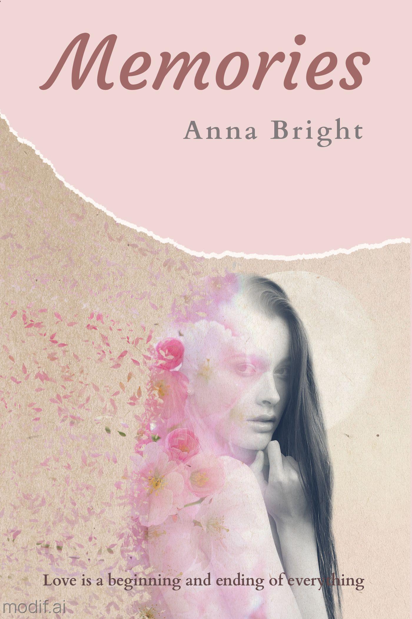 Romantic Book Cover Template