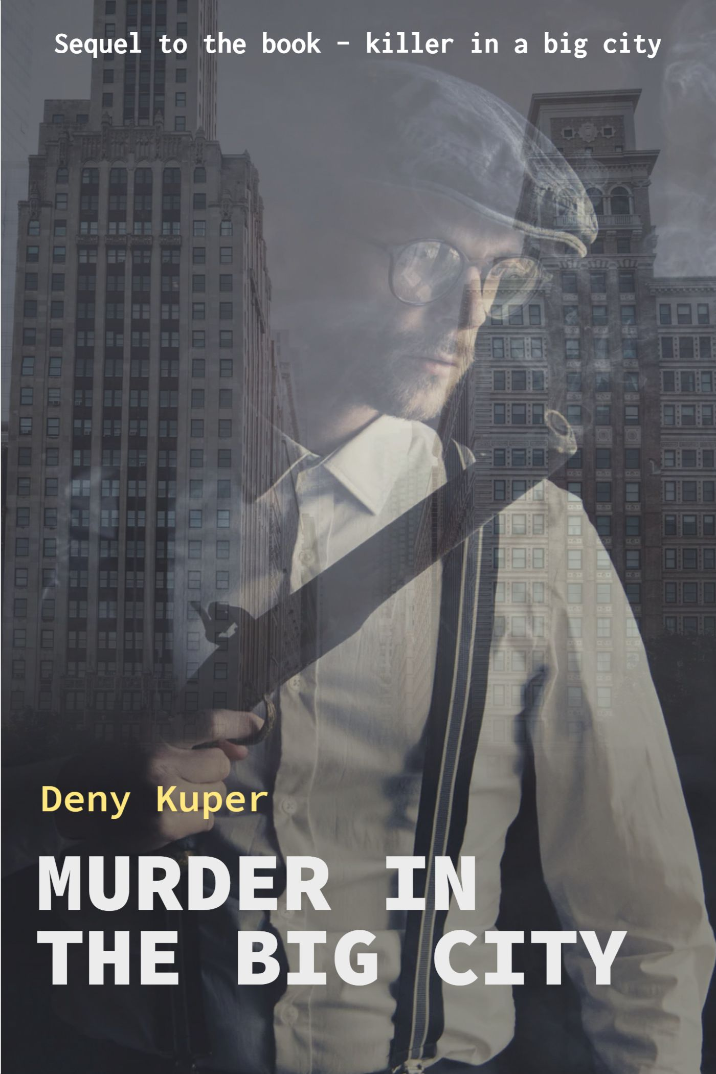 Big City Thriller Book Cover Template