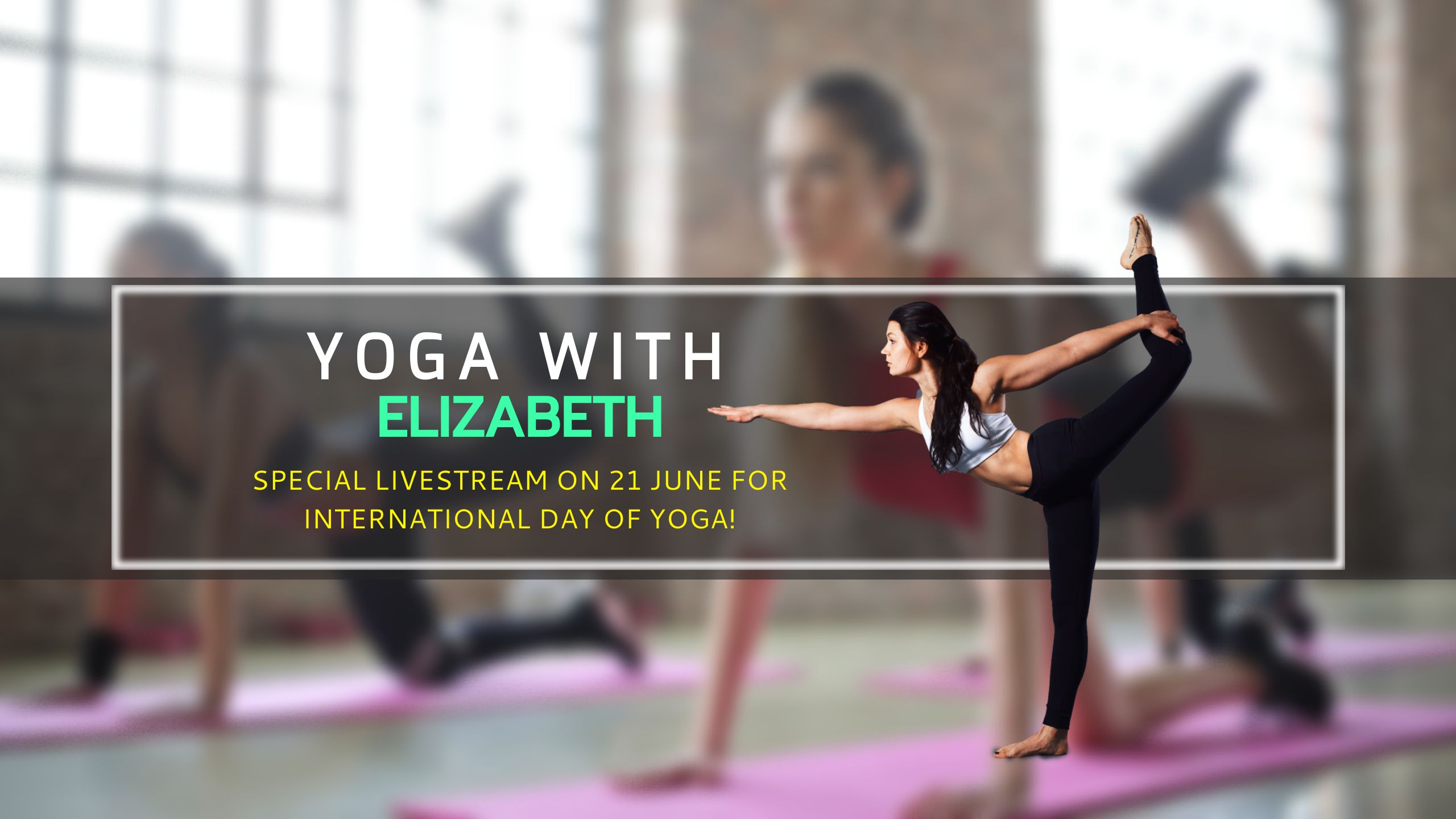 International Day of Yoga Youtube Channel Art