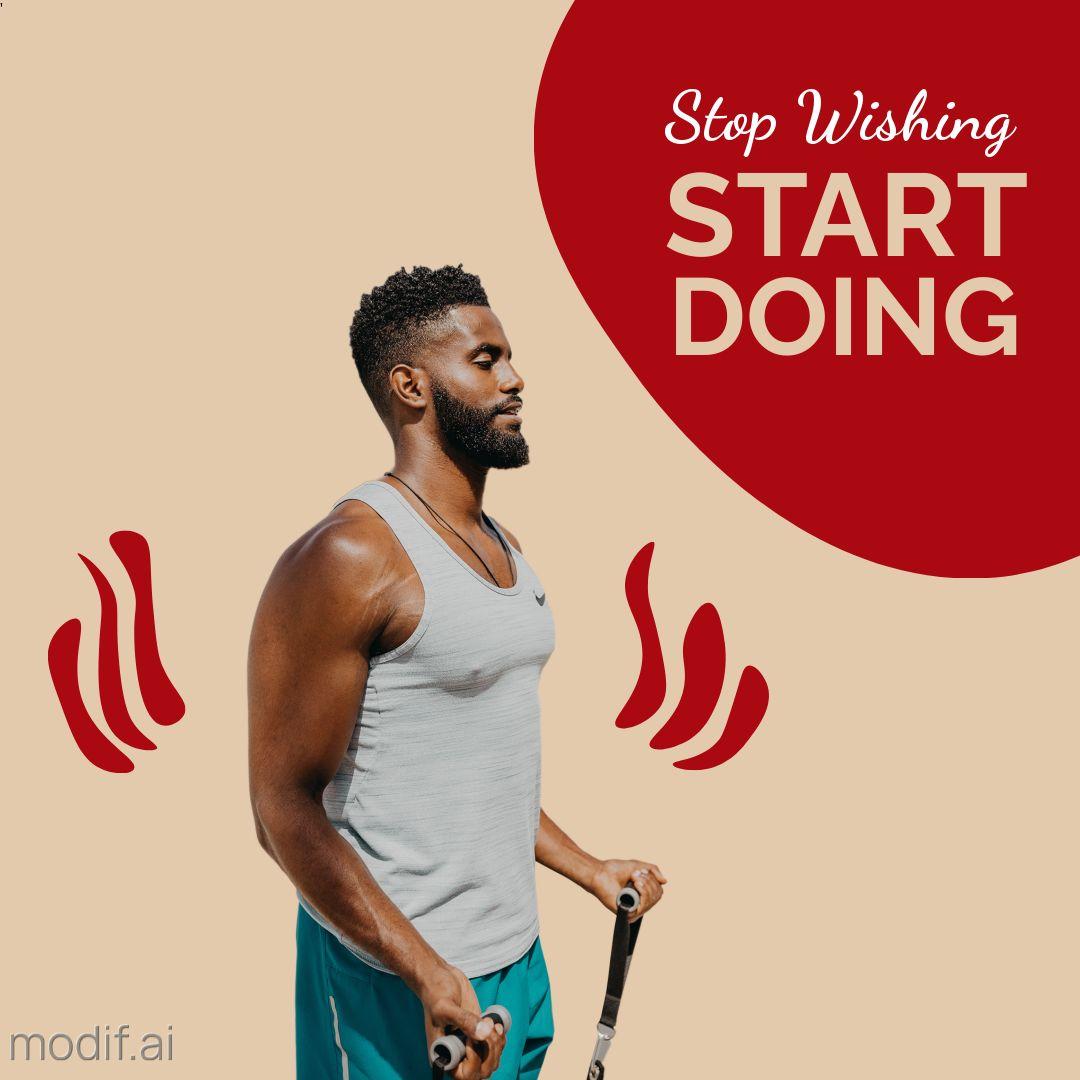 Fitness Motivation Instagram Template