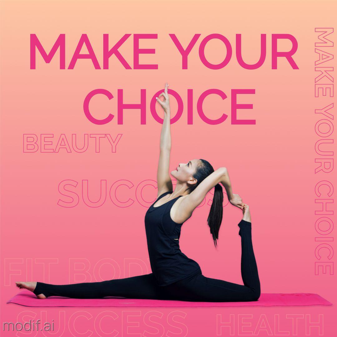 Fitness Motivation Instagram Post