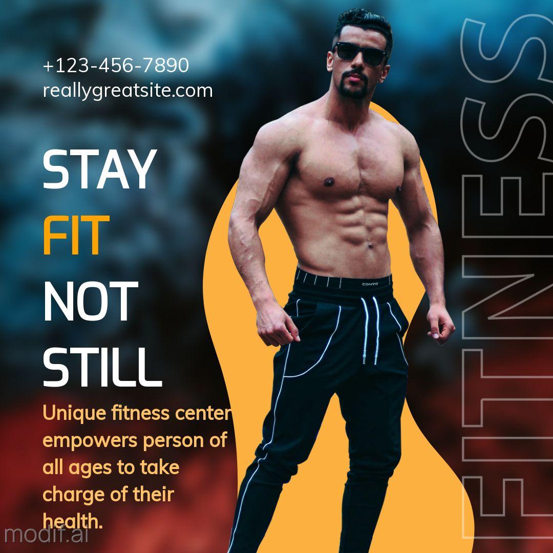 Fitness Gym Instagram Template