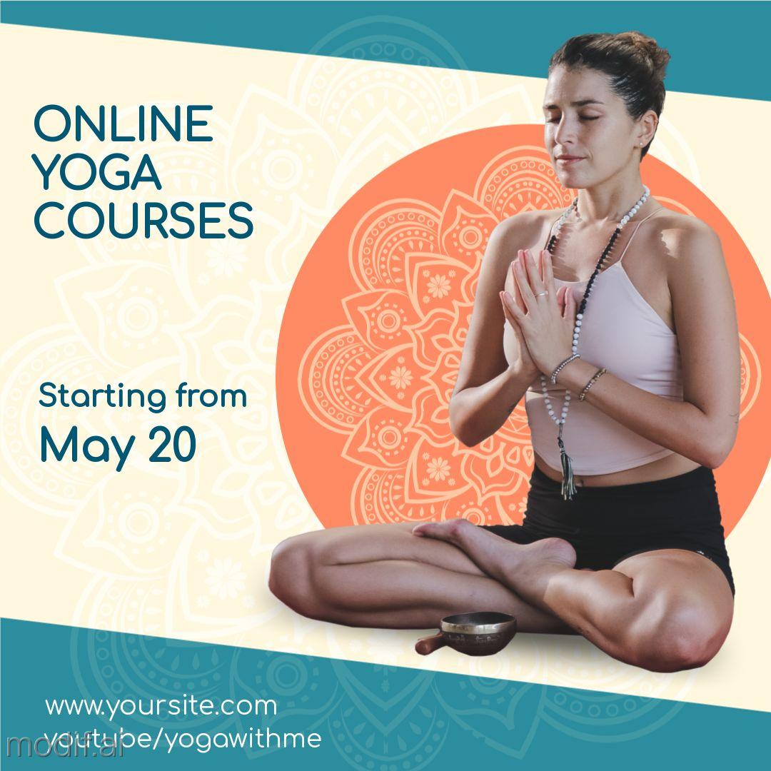 Online Yoga Post Template