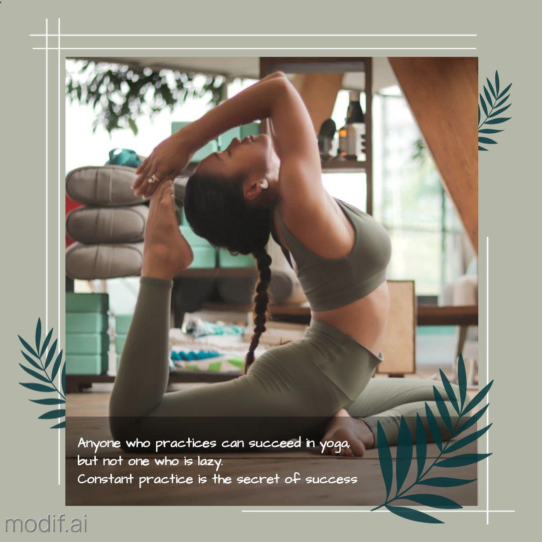 Instagram Post Yoga Template
