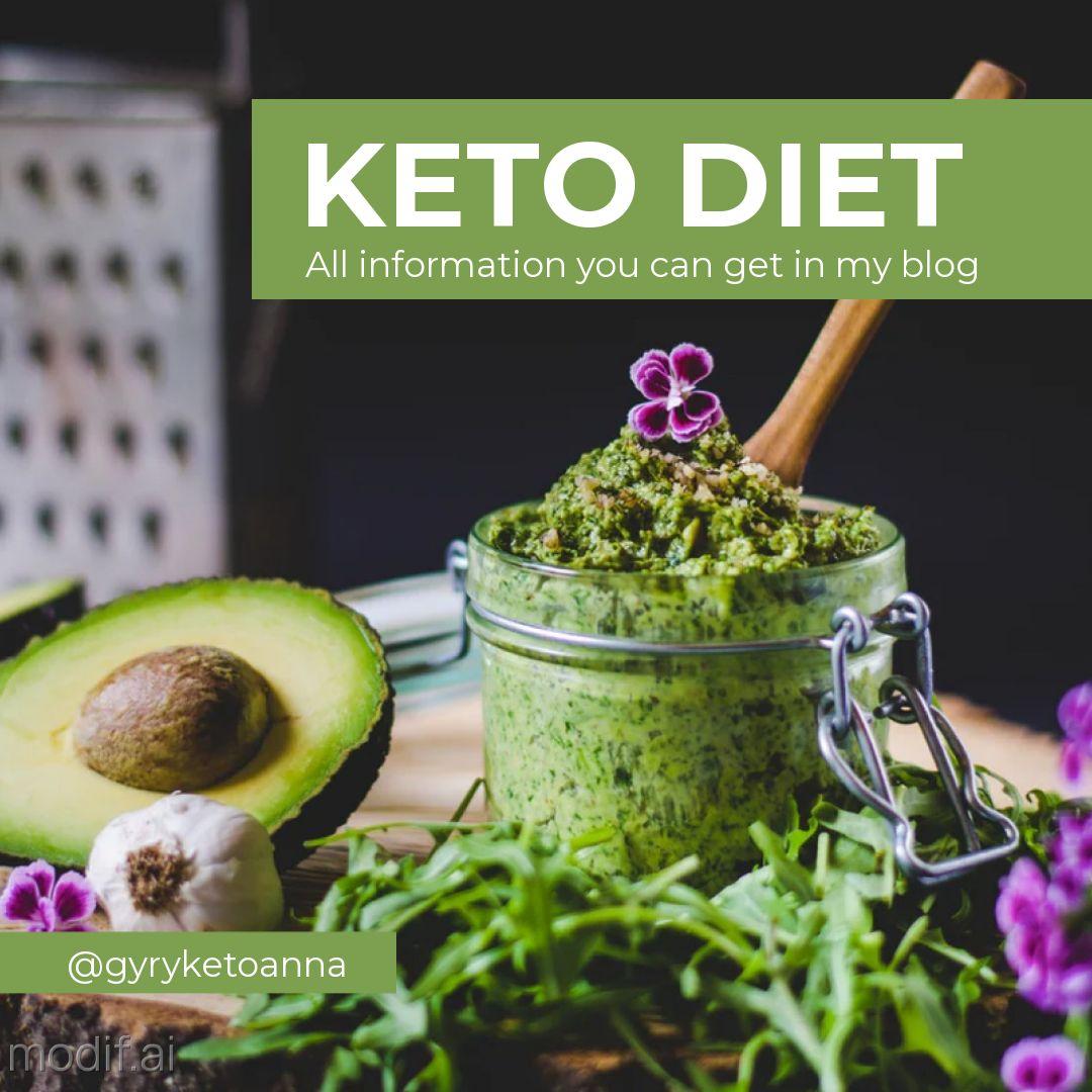 Instagram Post Keto Dieta Template