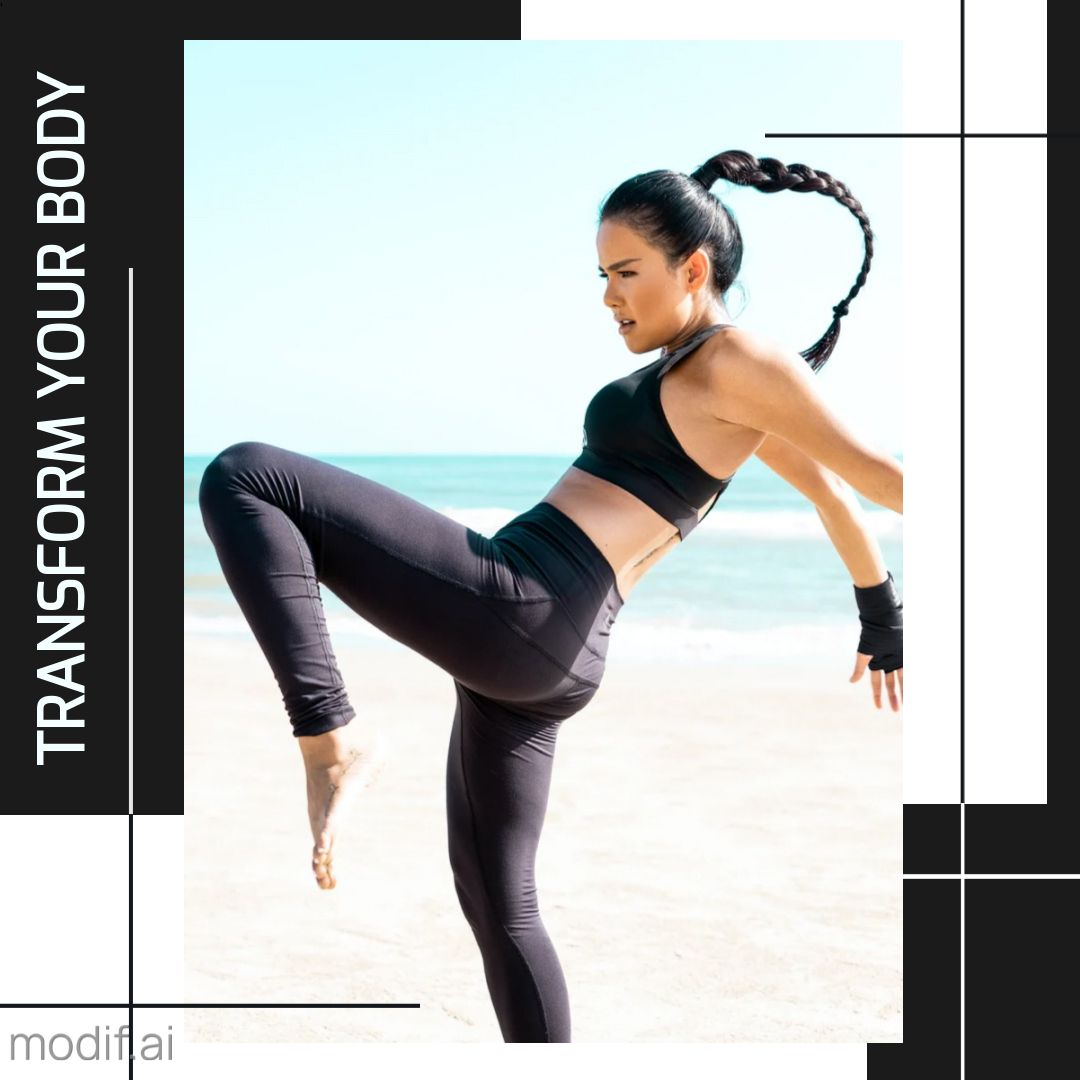 Transform Your Body Template Instagram Post
