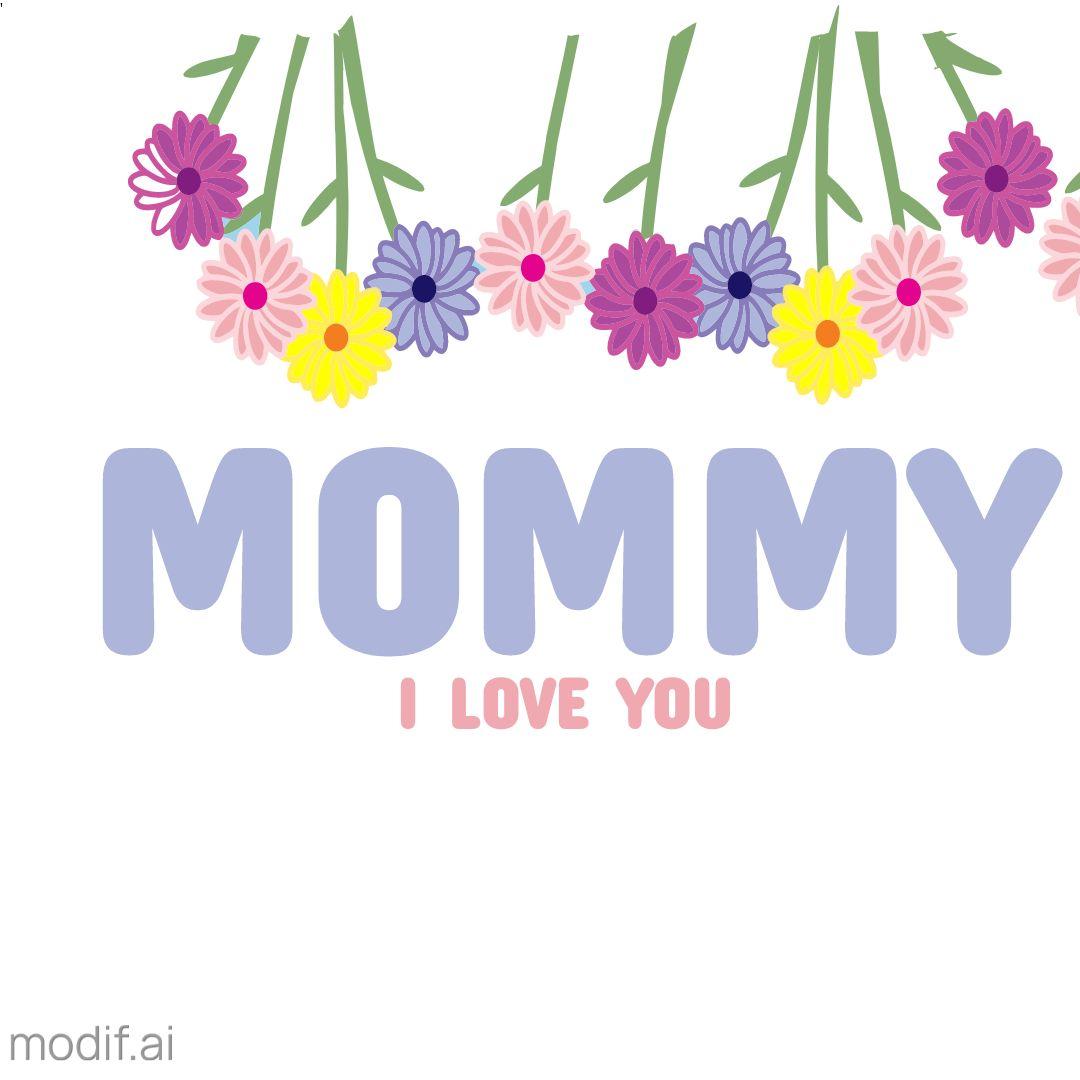Mug Mommy Love Design Template