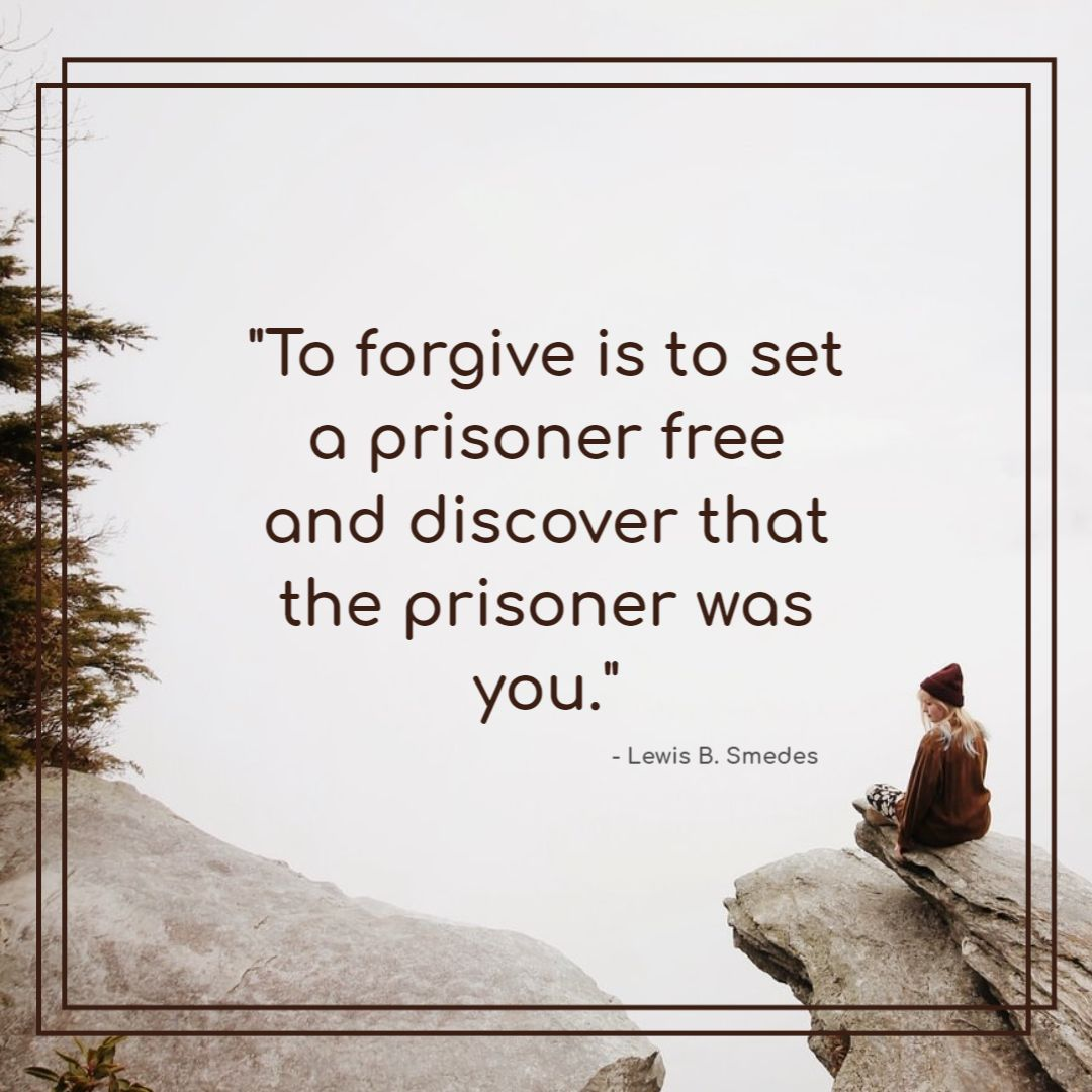 Global Forgiveness Day - forgiveness quote