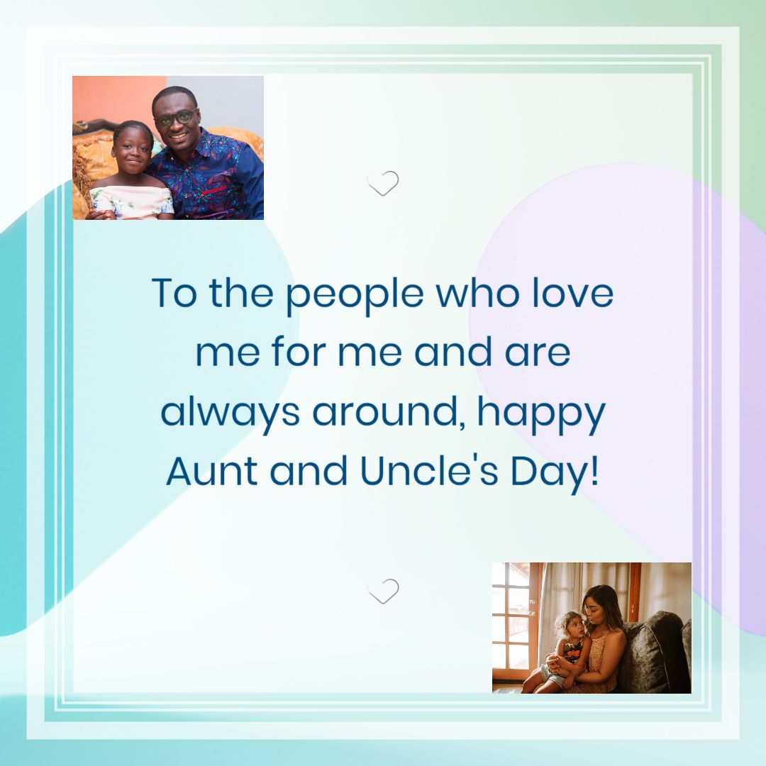 Aunt and Uncle Day - Instagram Post
