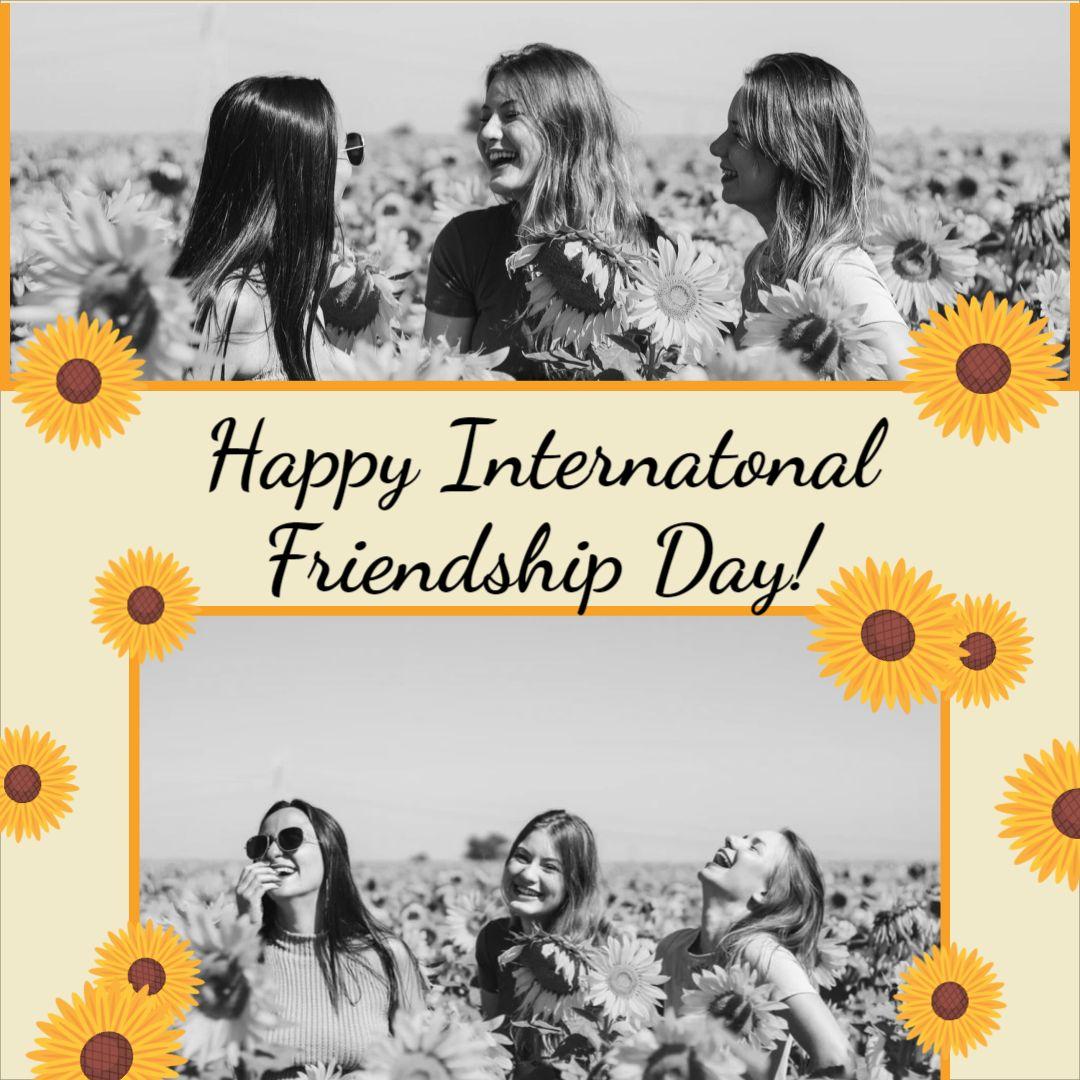 International Friendship Day - Instagram Post template