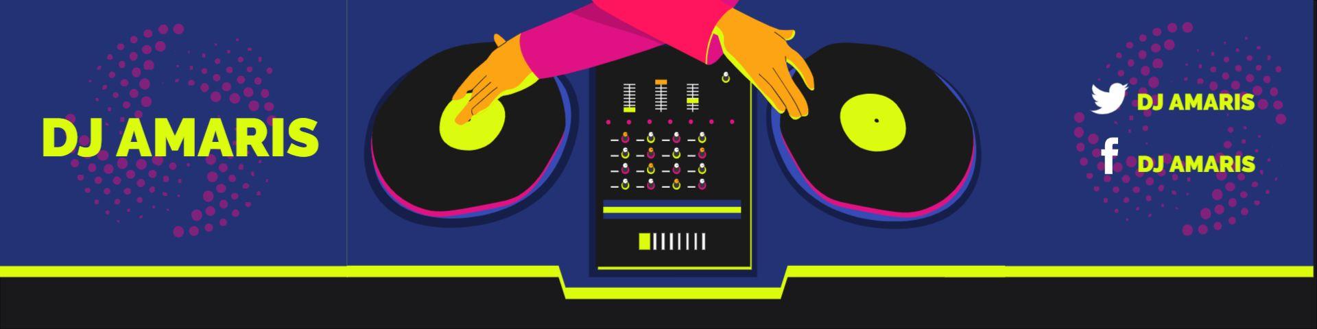DJ Twitch Channel Heading Banner Design