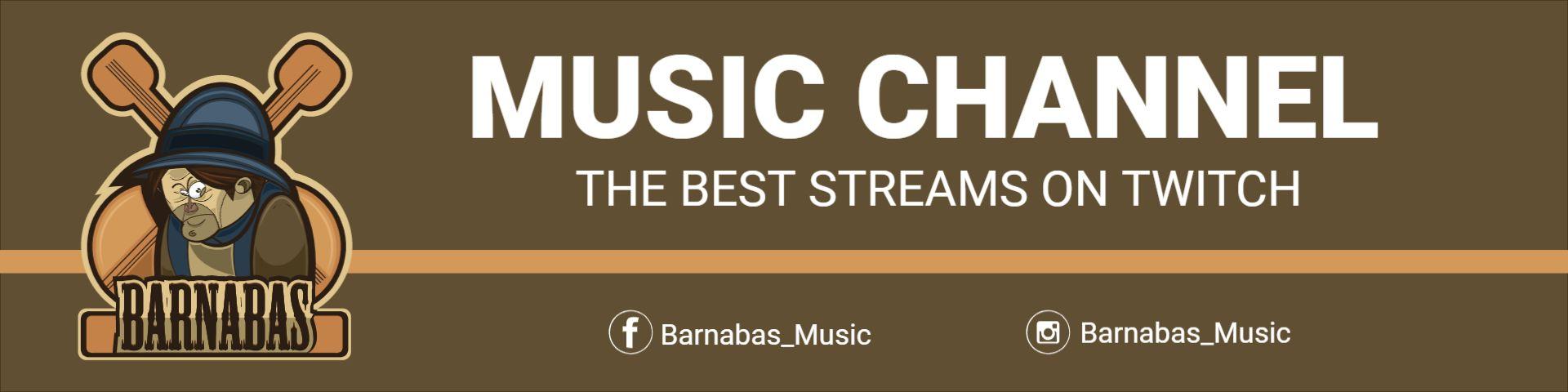Music Channel Twitch Banner