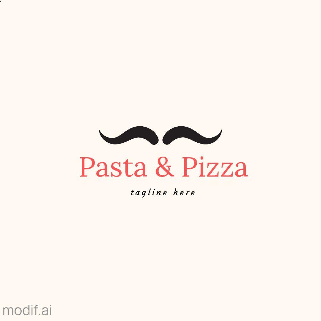 Mustache Logo Design Template