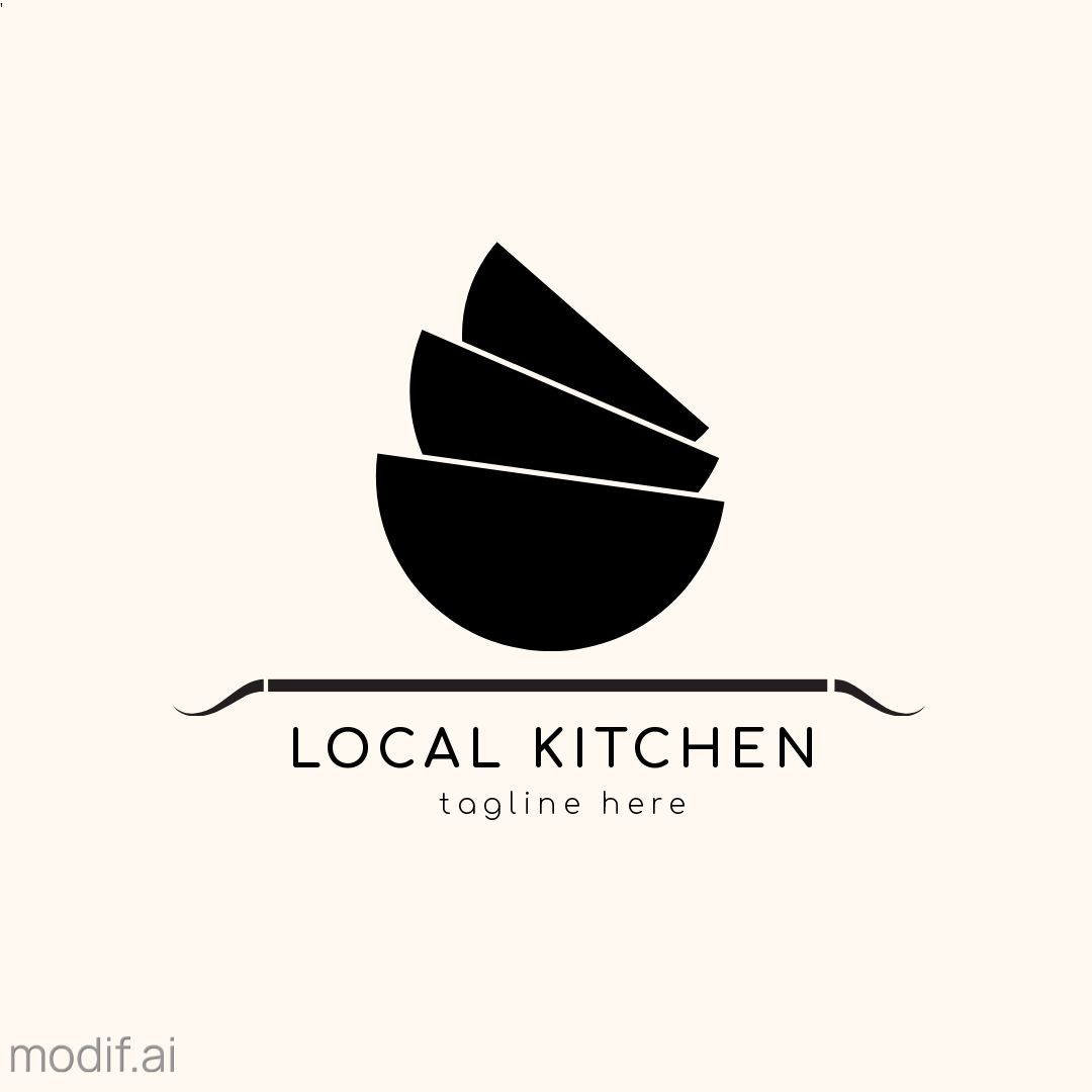 Bowl Logo Design Template