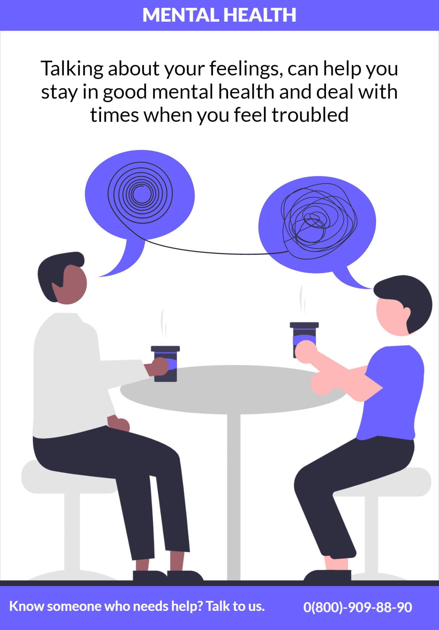 Poster Mental Health Psychologist Template