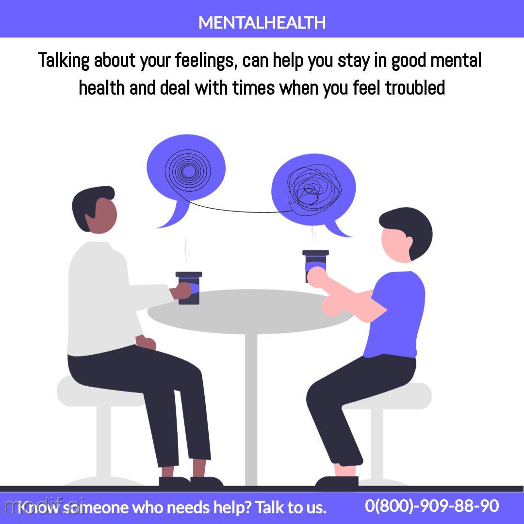 Instagram Post Mental Health Psychologist Template