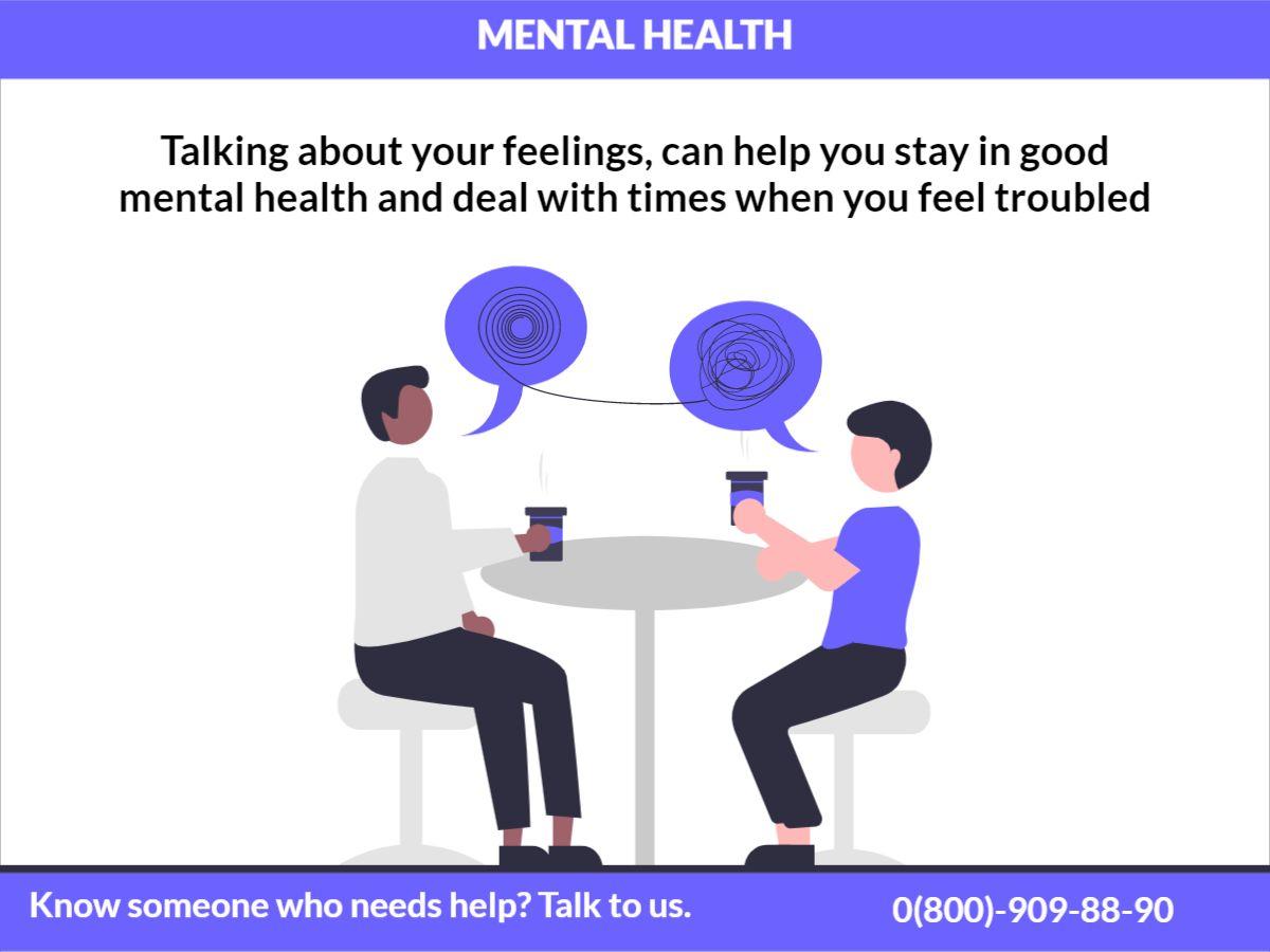 Facebook Post Mental Health Psychologist Template