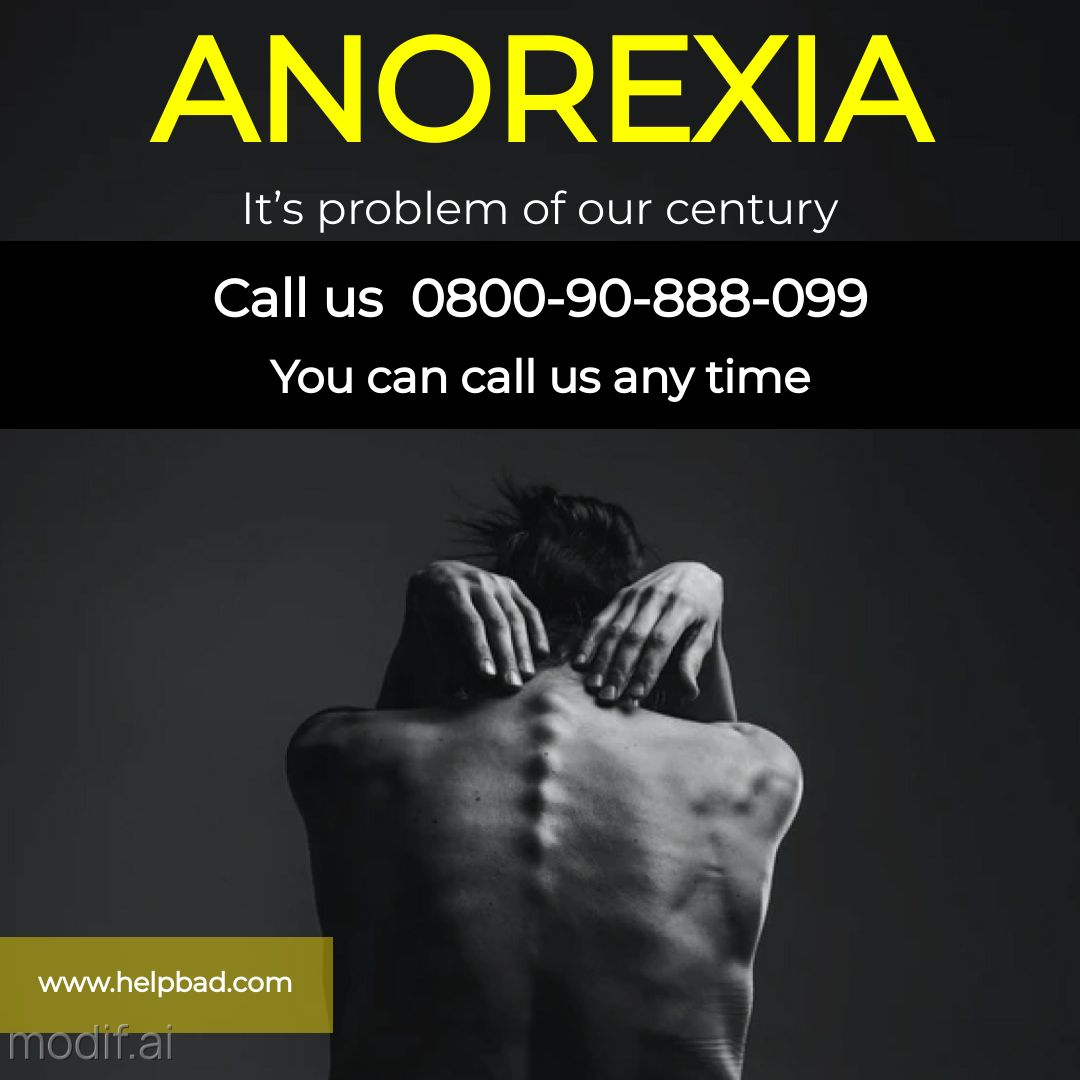 Instagram Post Mental Health Problem Anorexia Template