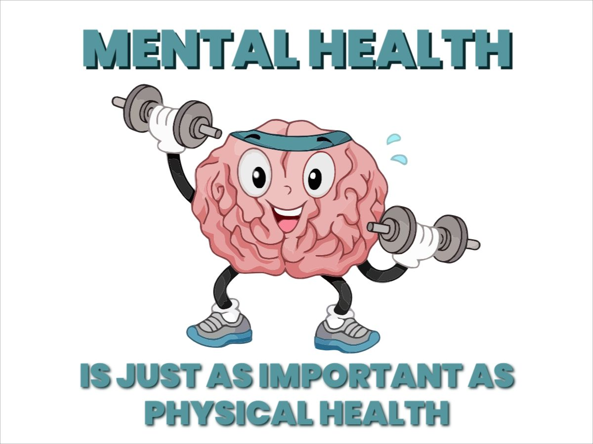 Facebook Post Mental Health Strong Brain