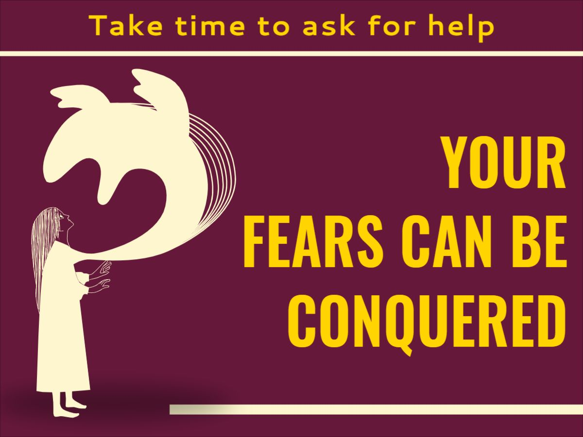 Fighting Fear Facebook Post Template