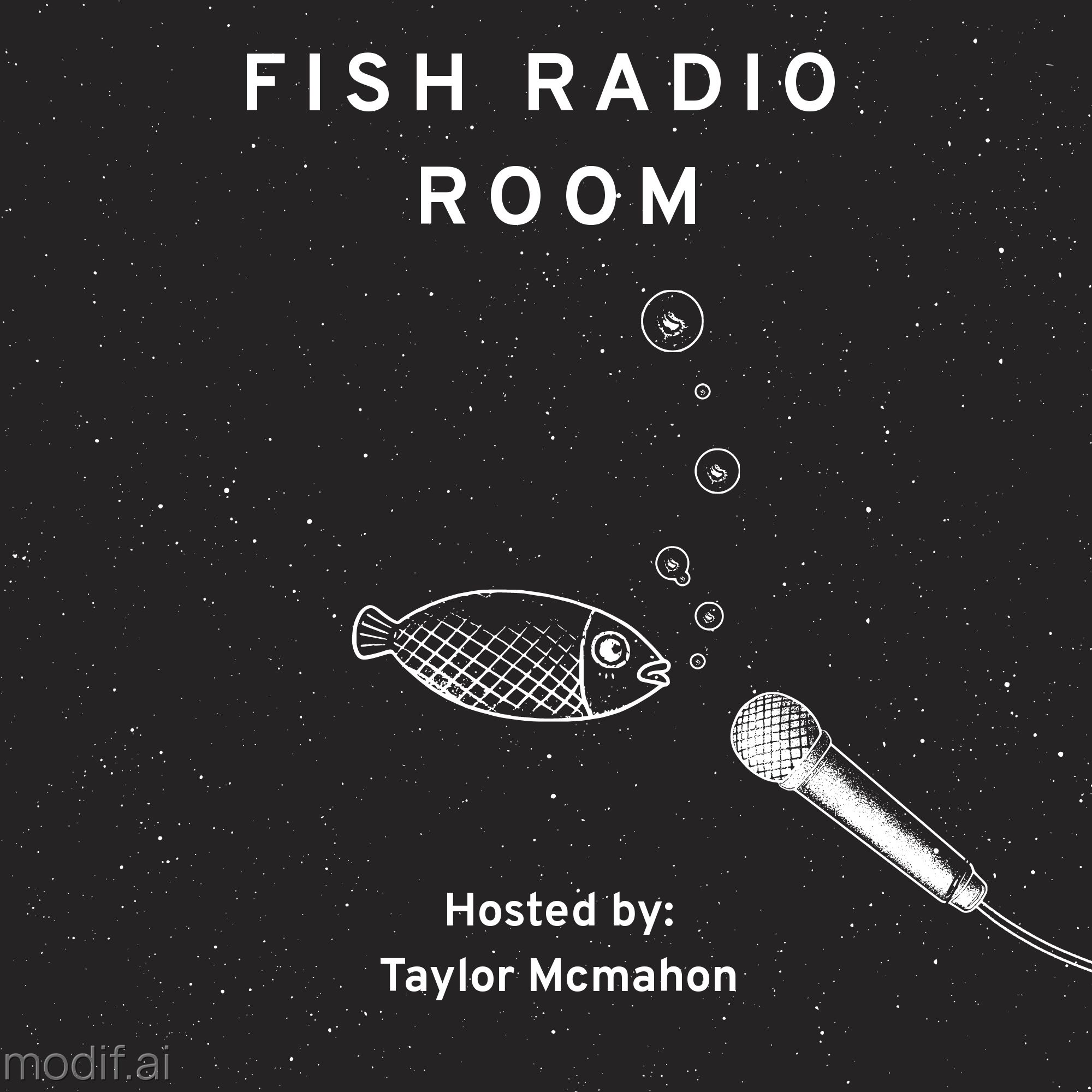 Podcast Cover Fish Room Template