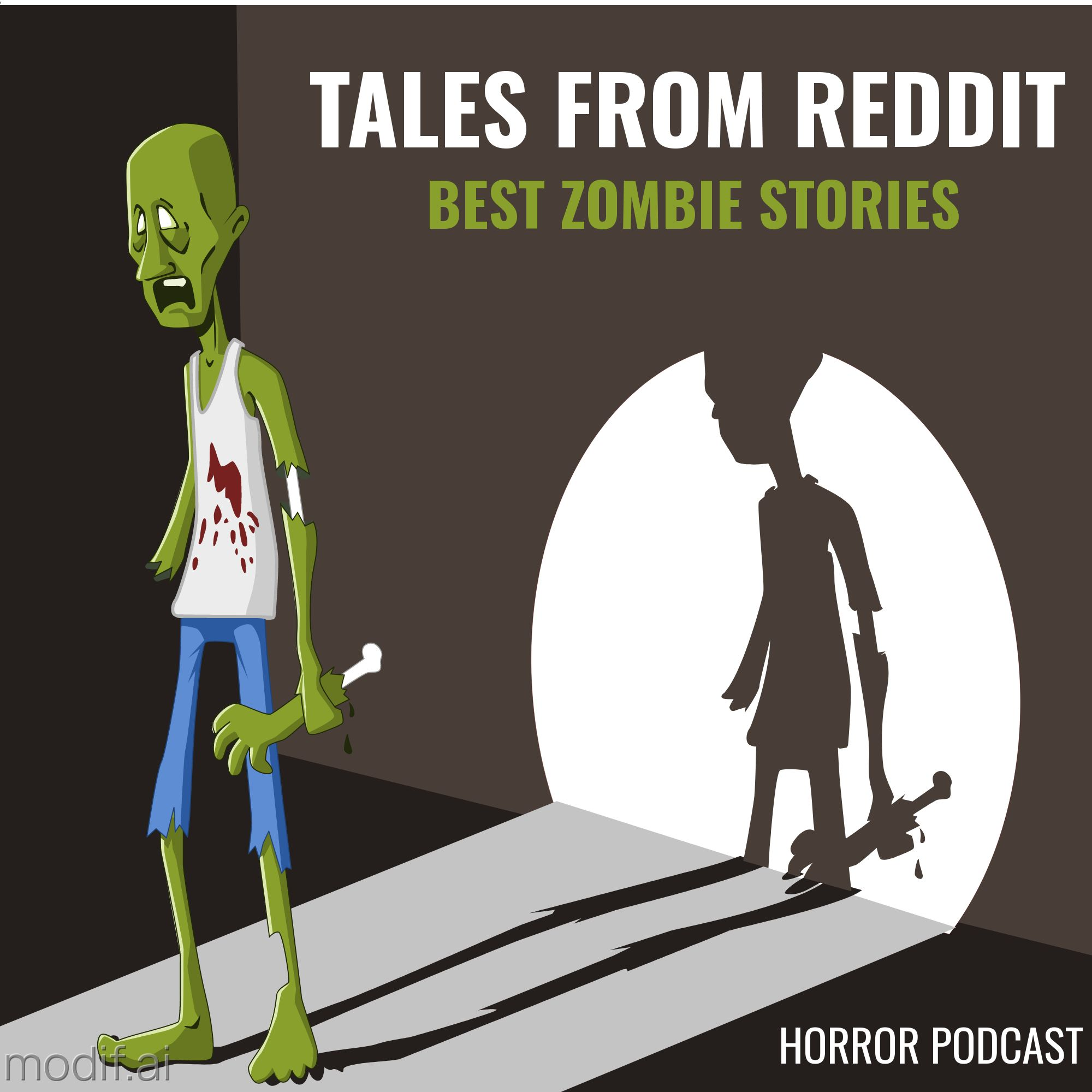 Horror Podcast Cover Template