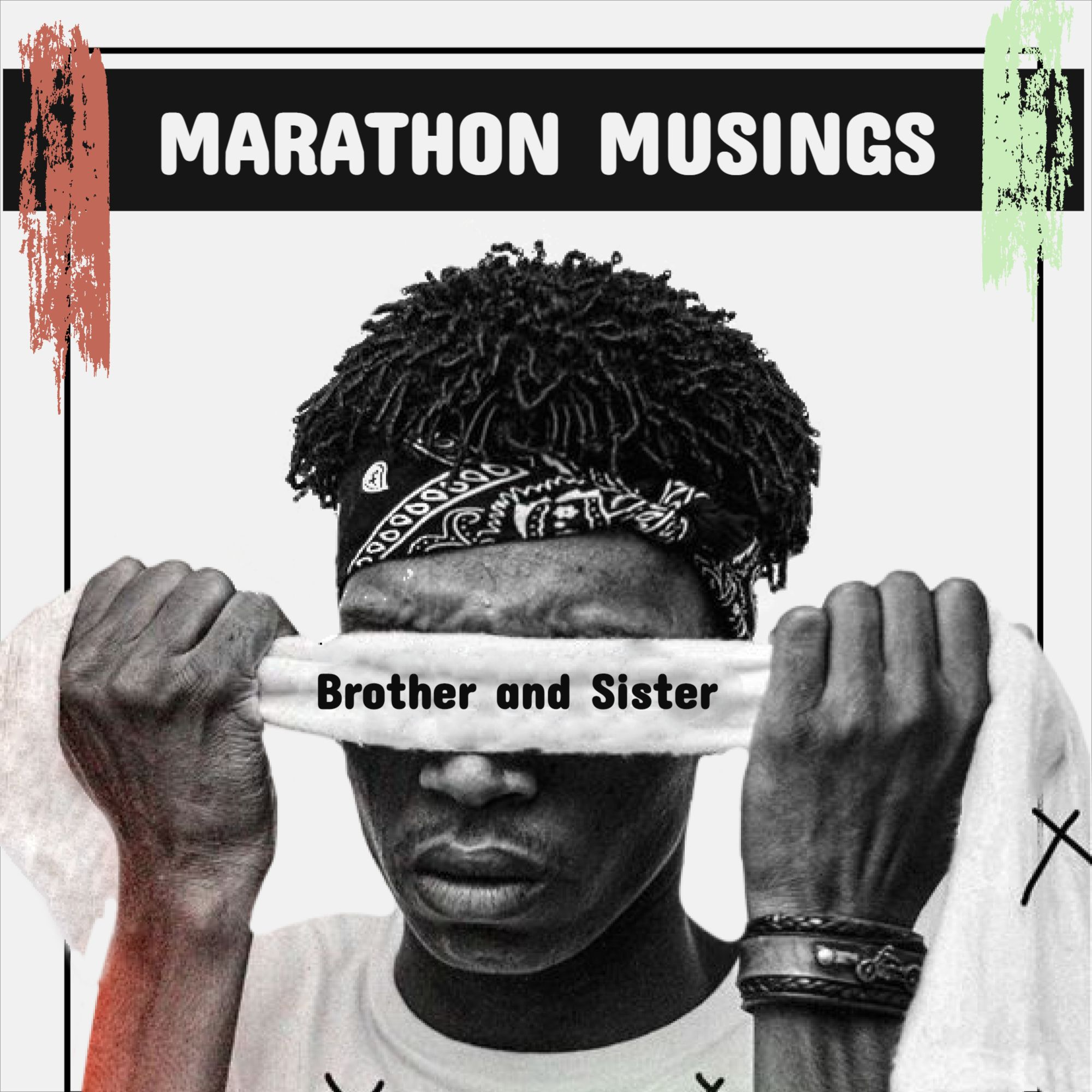 Music Marathon Podcast Cover Template