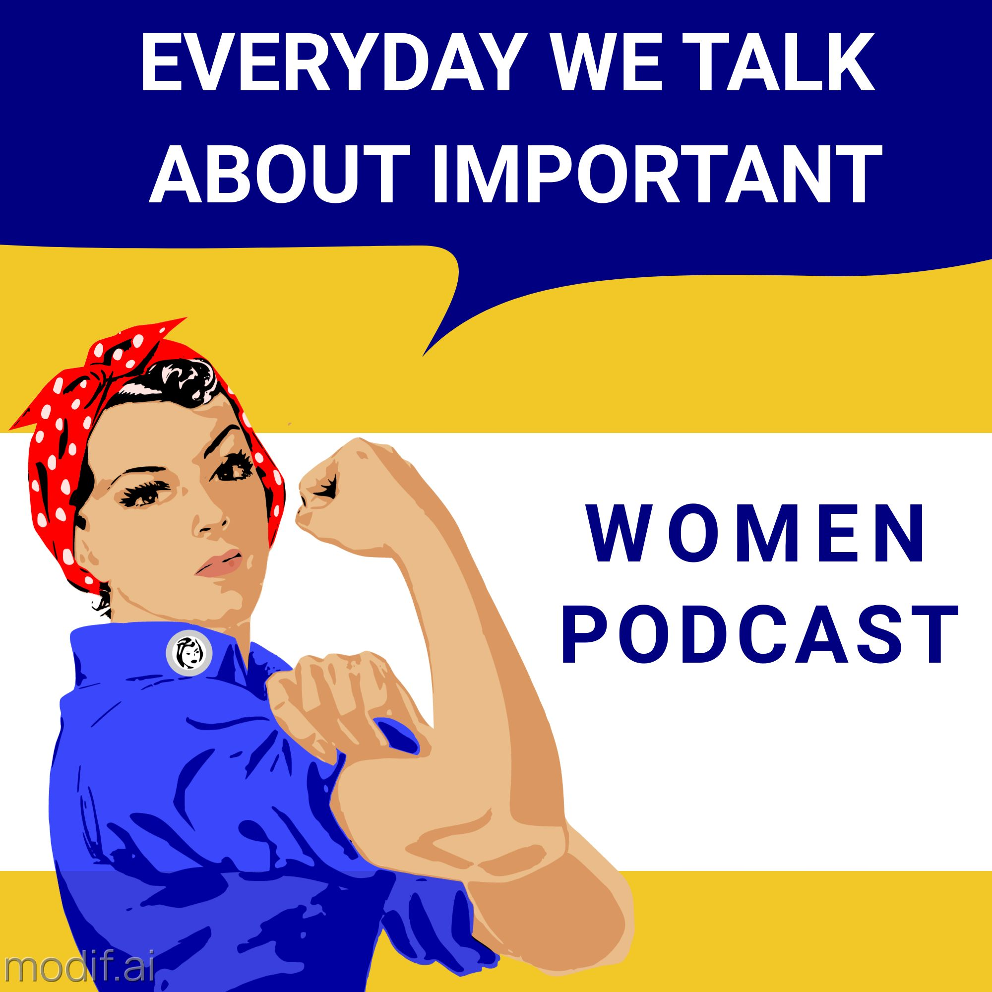 Strong Women Podcast Cover Template