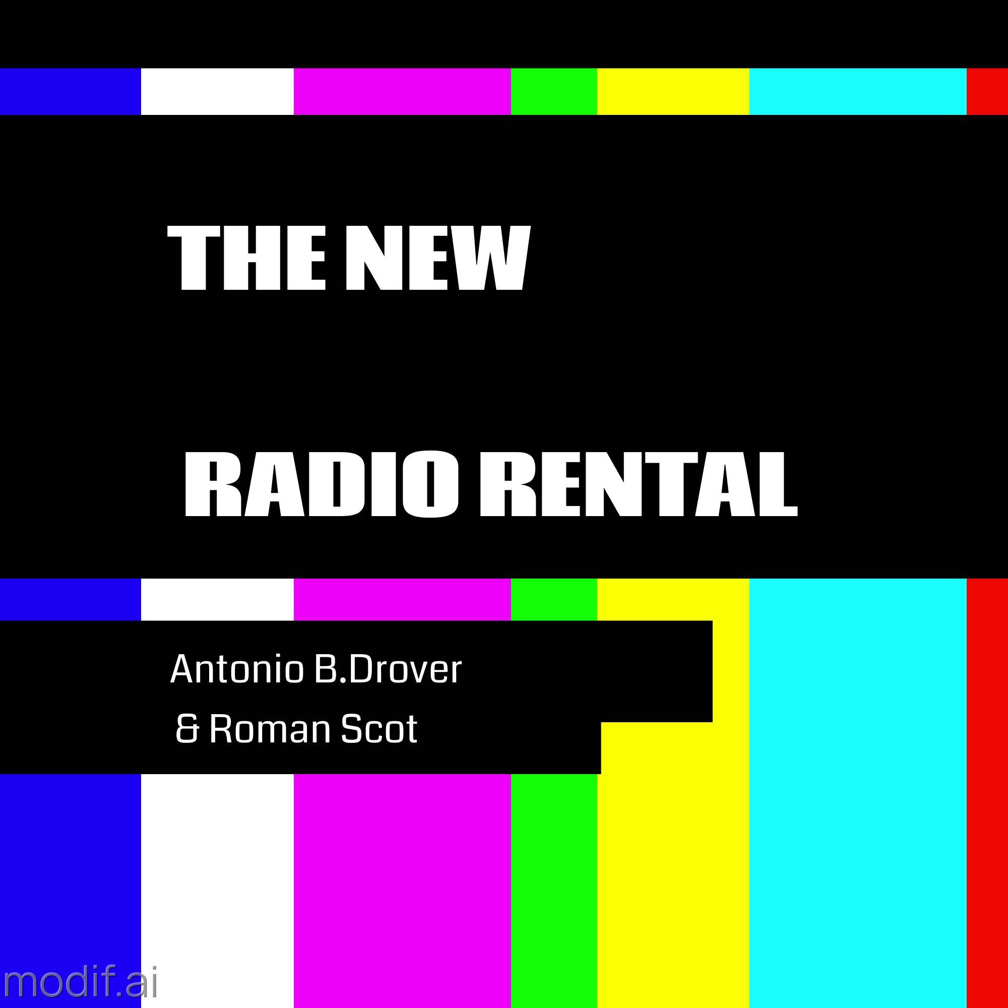 Podcast Cover Radio Rental Design