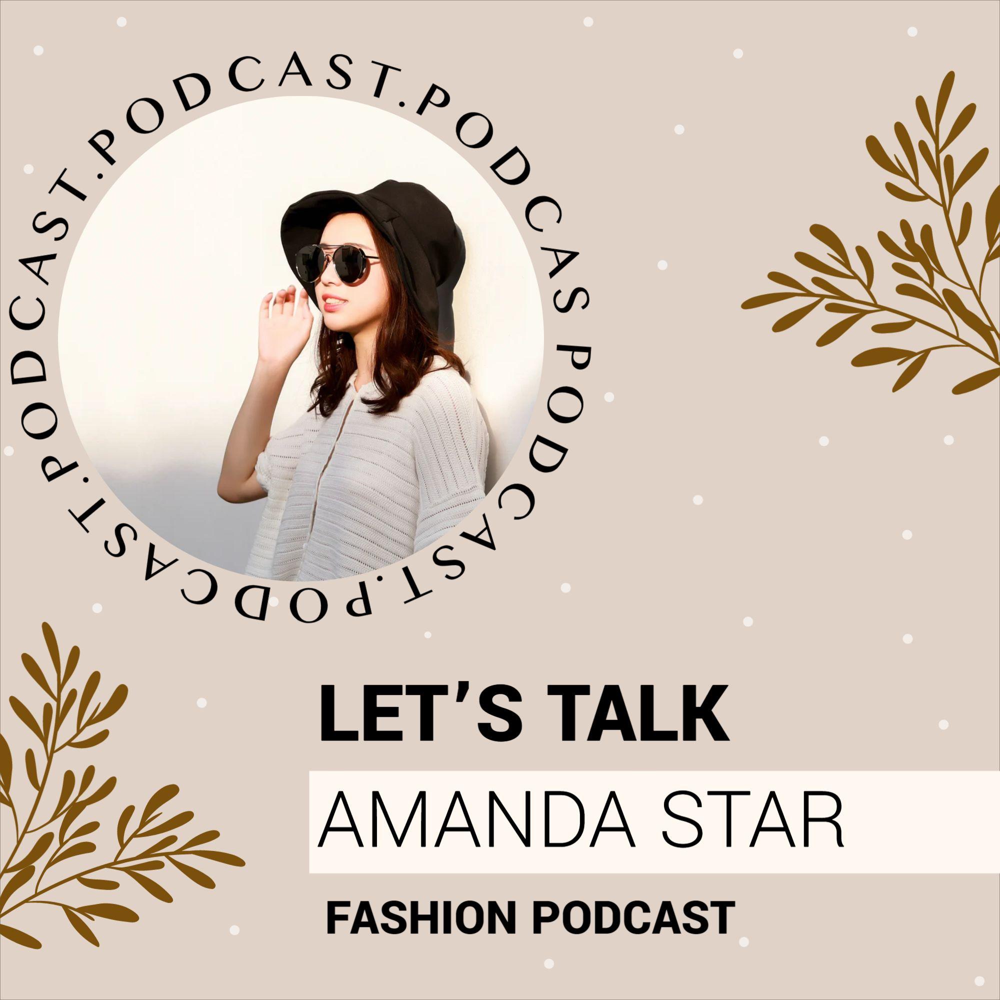 Fashion Podcast Cover Design