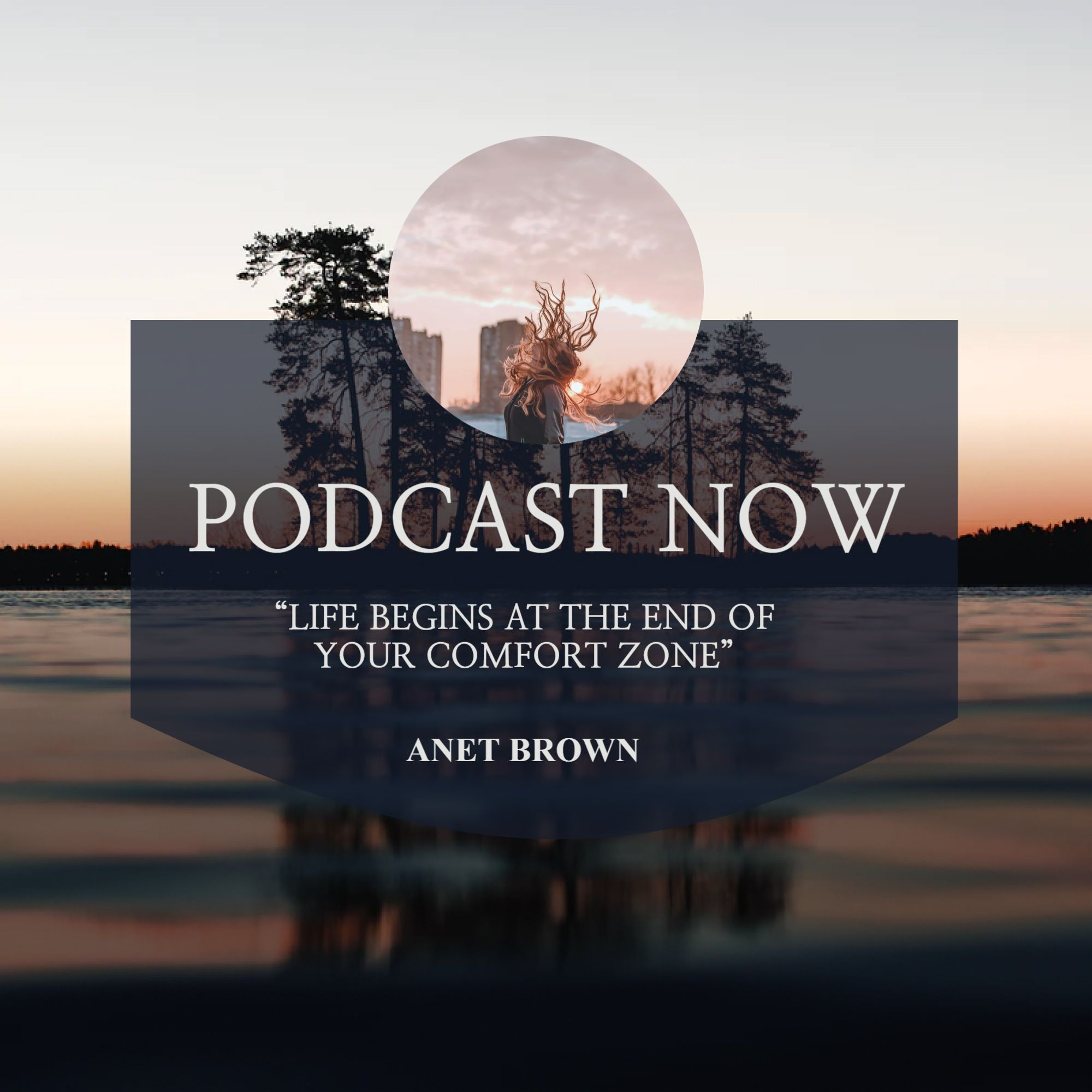Podcast Now Cover Design Template