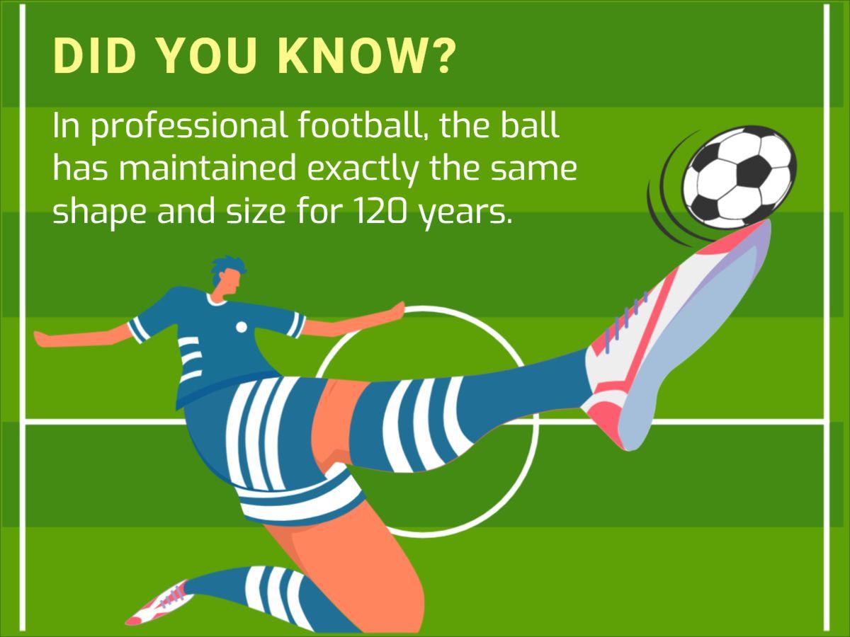 Football Fact Facebook Post Template