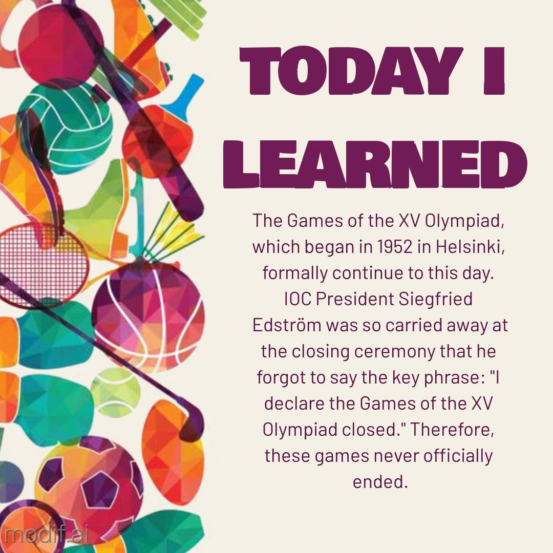 Today I learned Olympic Template