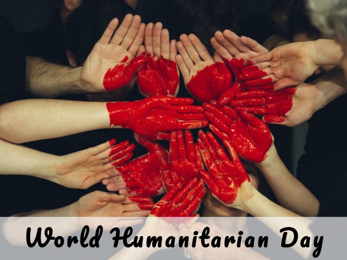 World Humanitarian Day Facebook Post Template