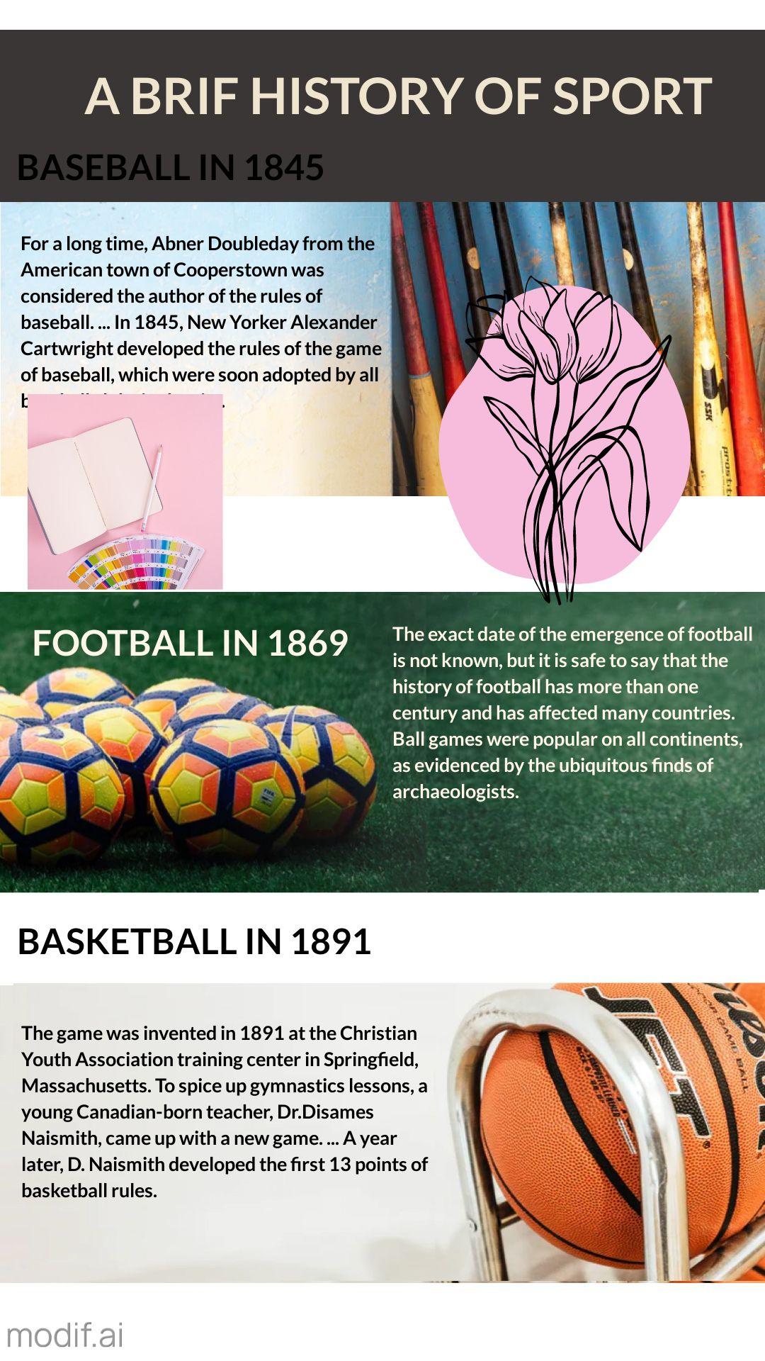 Sport Infographics Design Template