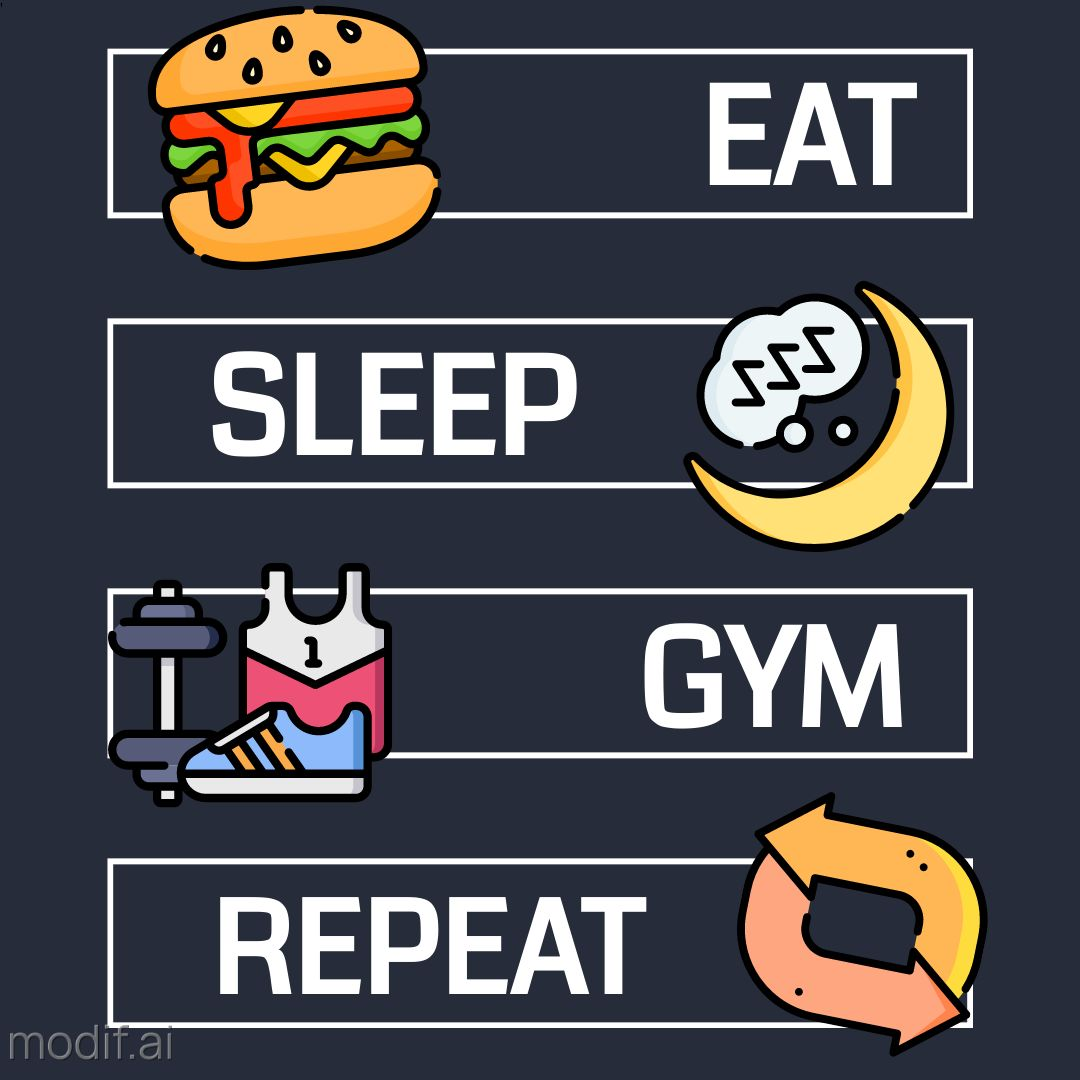 Gym Motivation Instagram Post Template